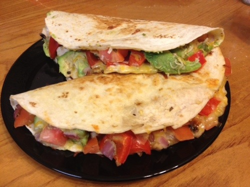 Food for Thought:  Quesadillas