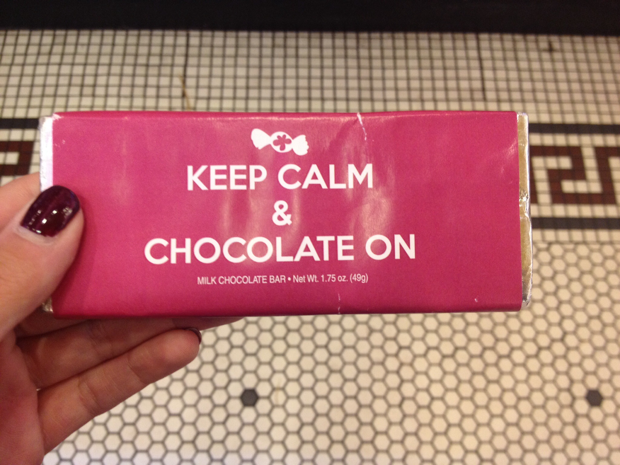 Keep Calm & Chocolate On