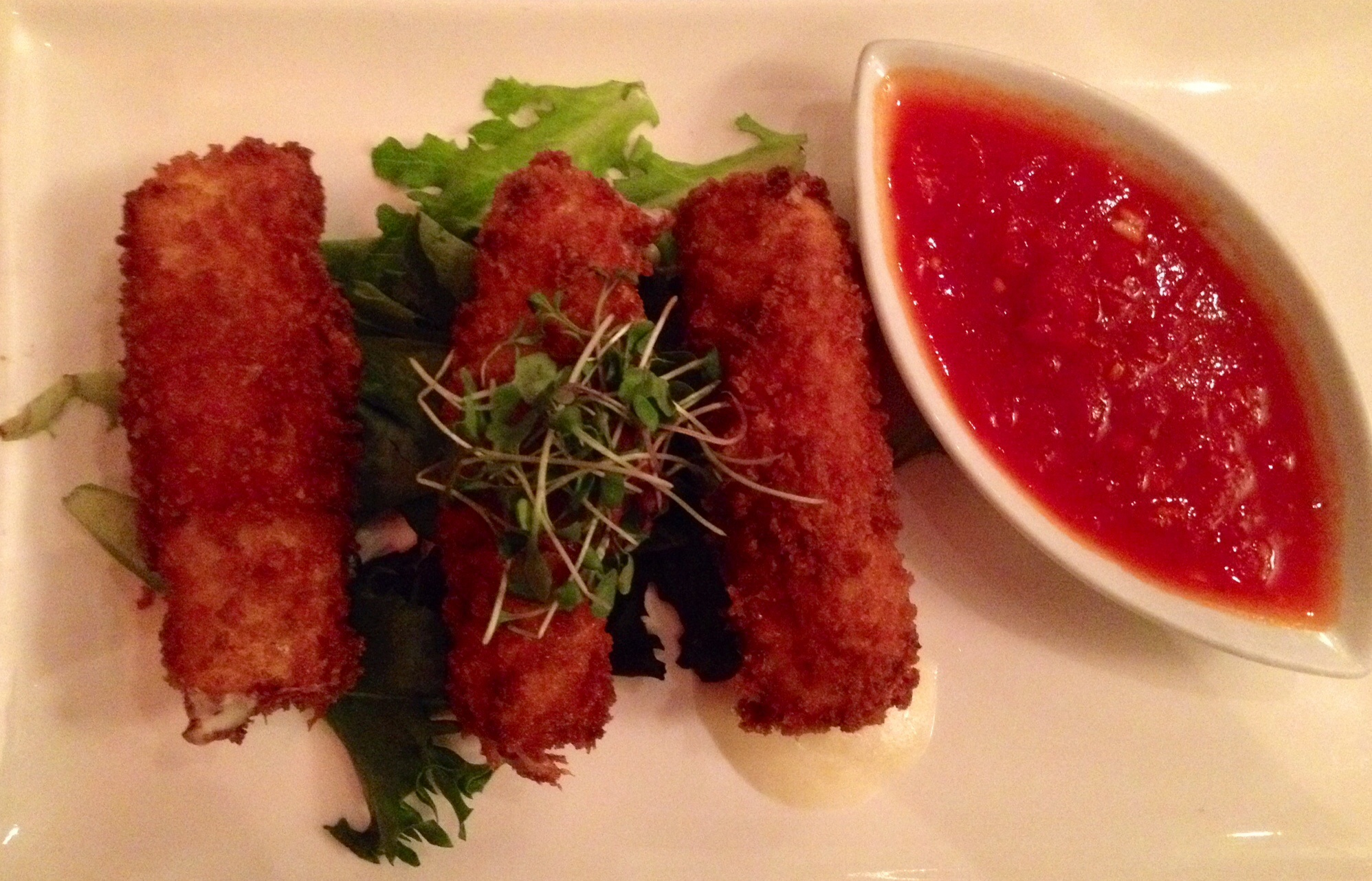 Loving XO - Bacon Stuffed Mozzarella Sticks
