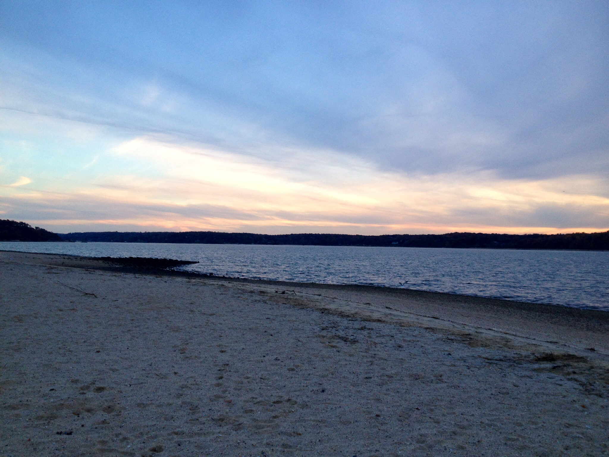 West Neck Beach - November Sunset