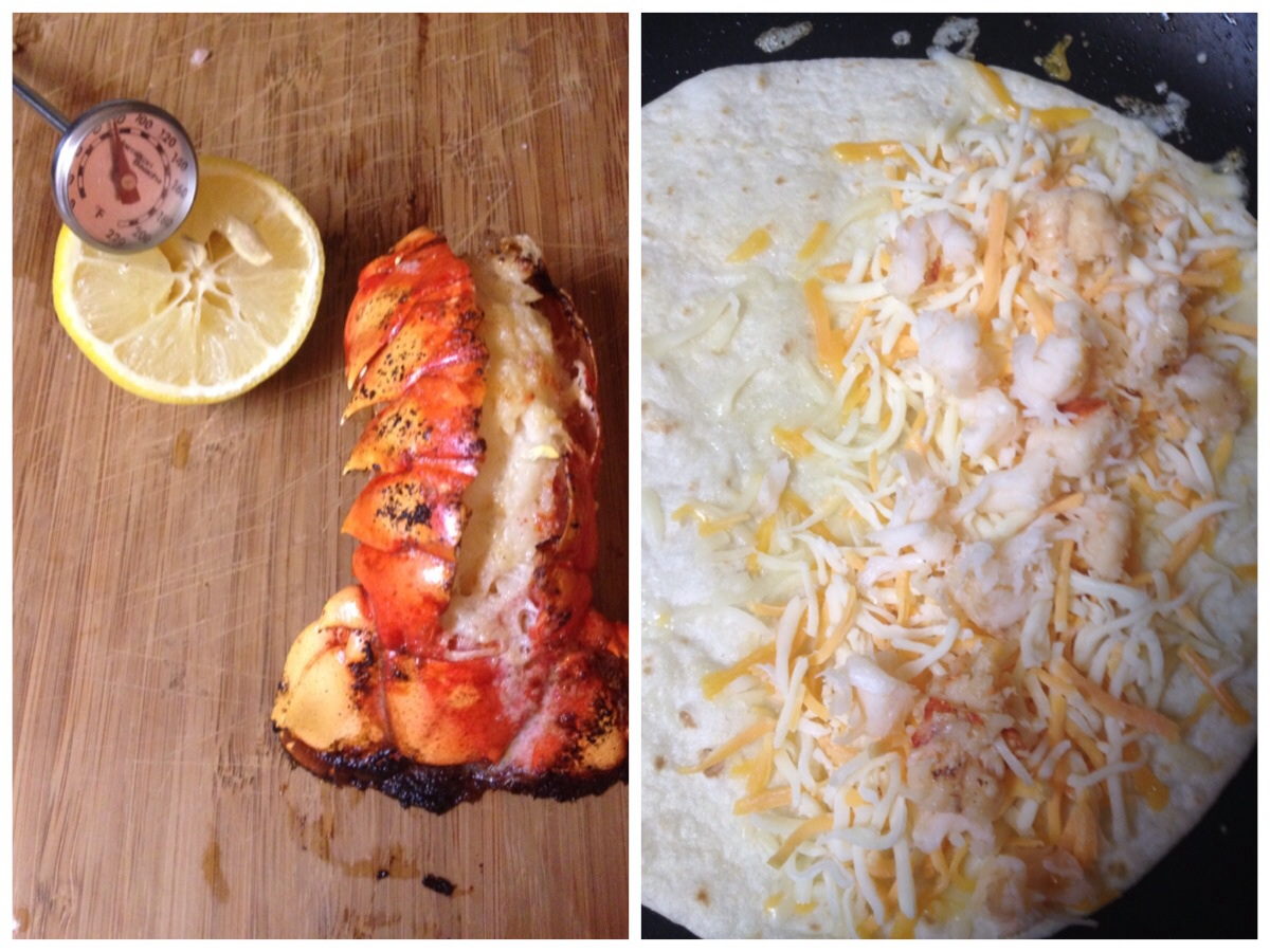 How to Prepare Lobster Quesadillas