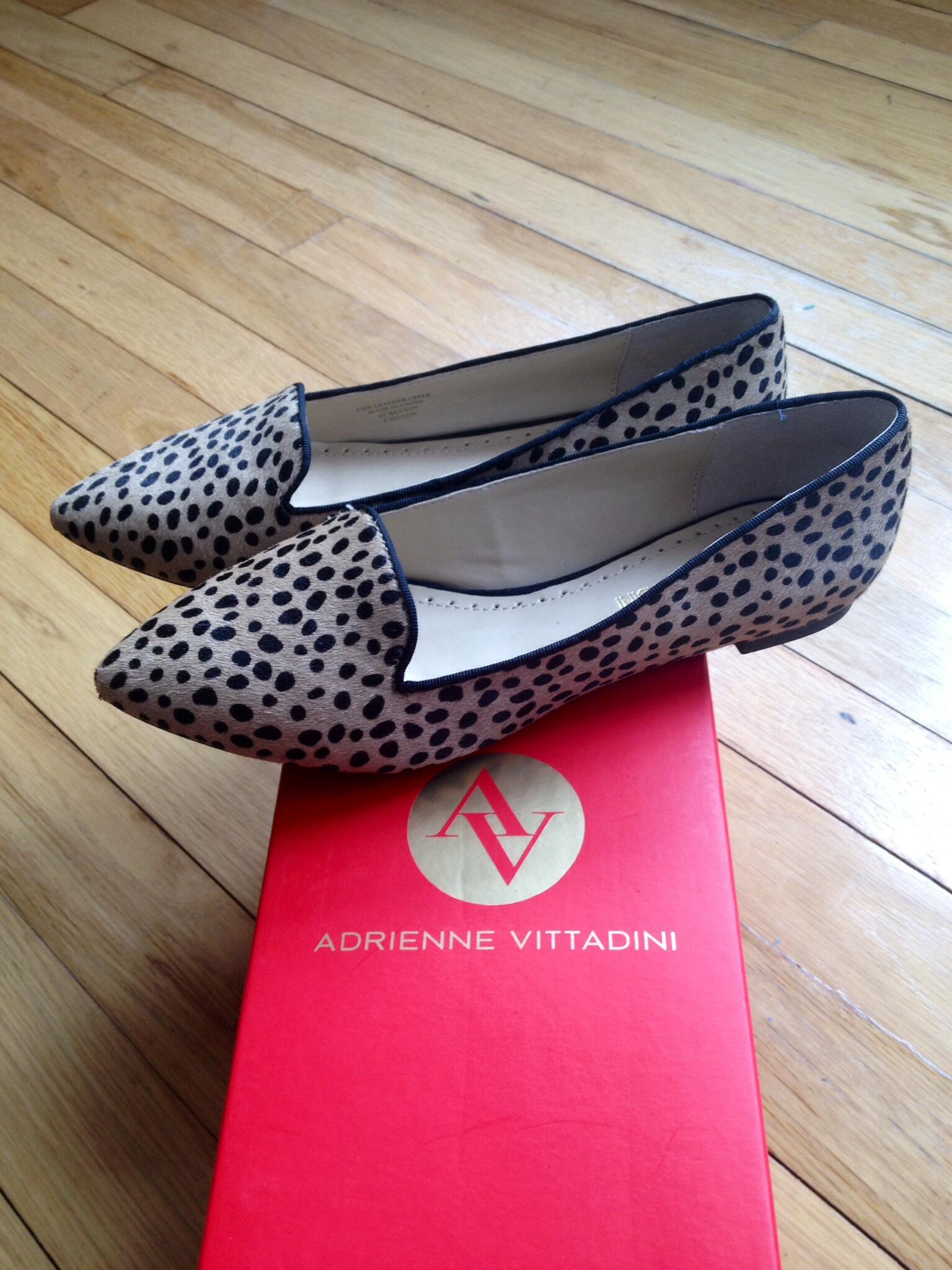 Adrienne Vittadini Leopard Flats - DSW
