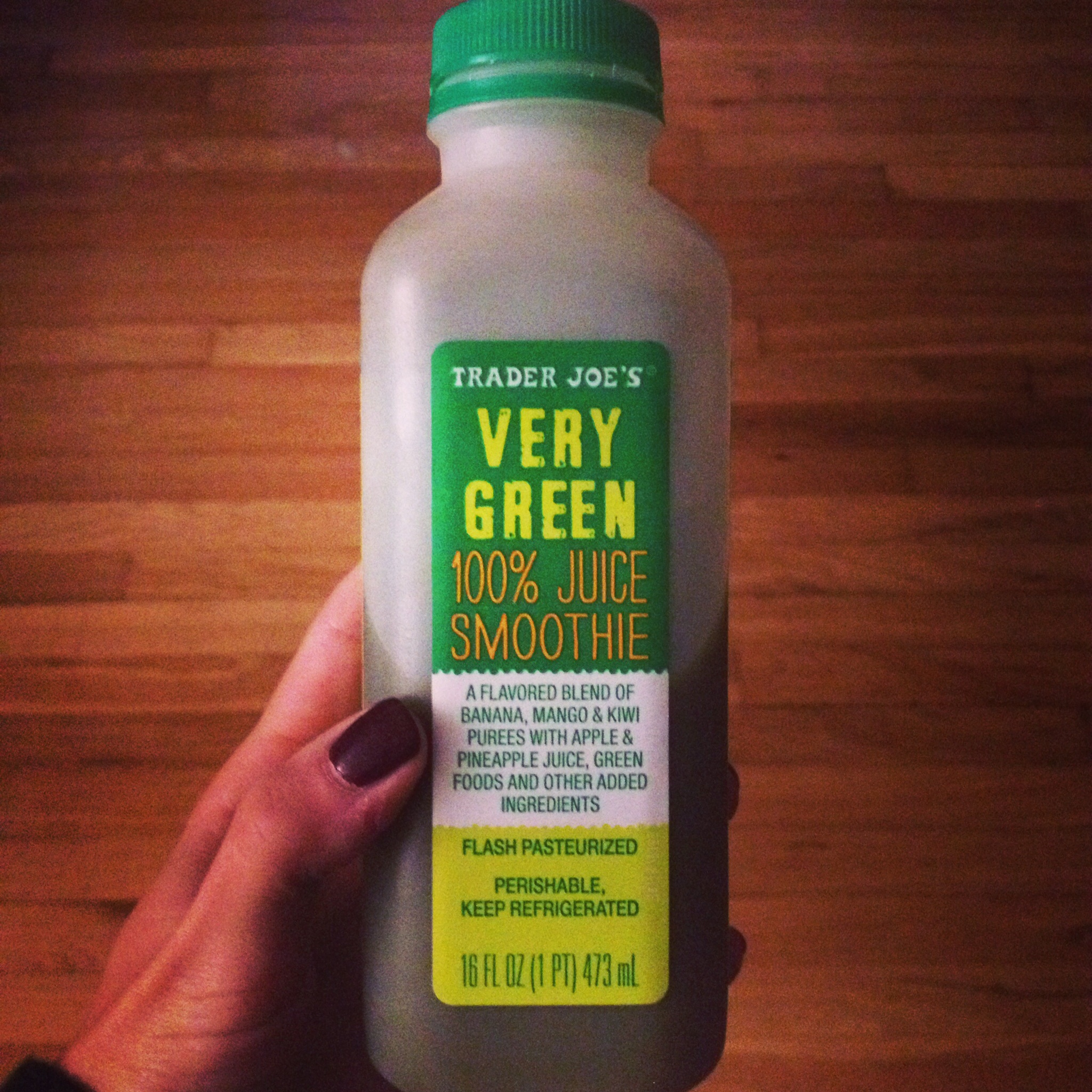Trader Joe's Very Green Smoothie
