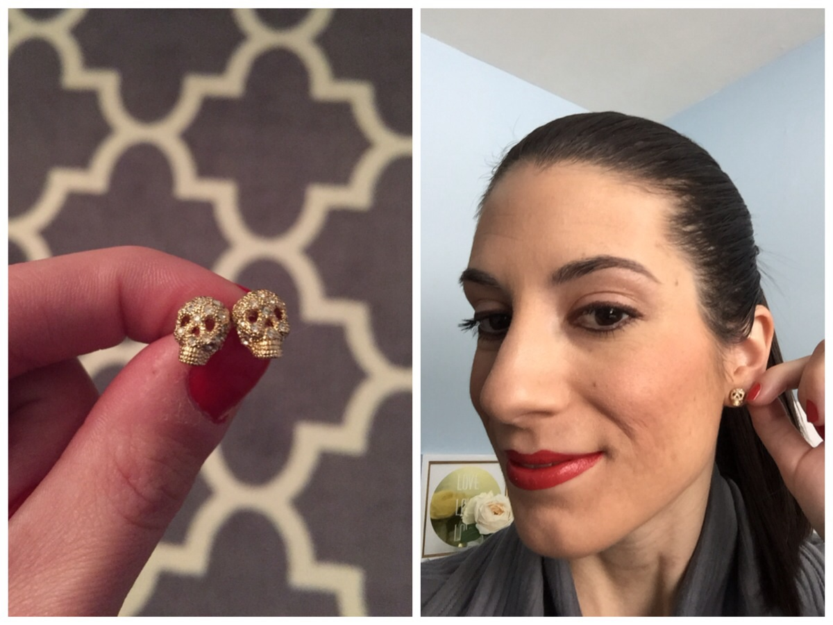 Gold Skull Earrings - Nordstrom Rack