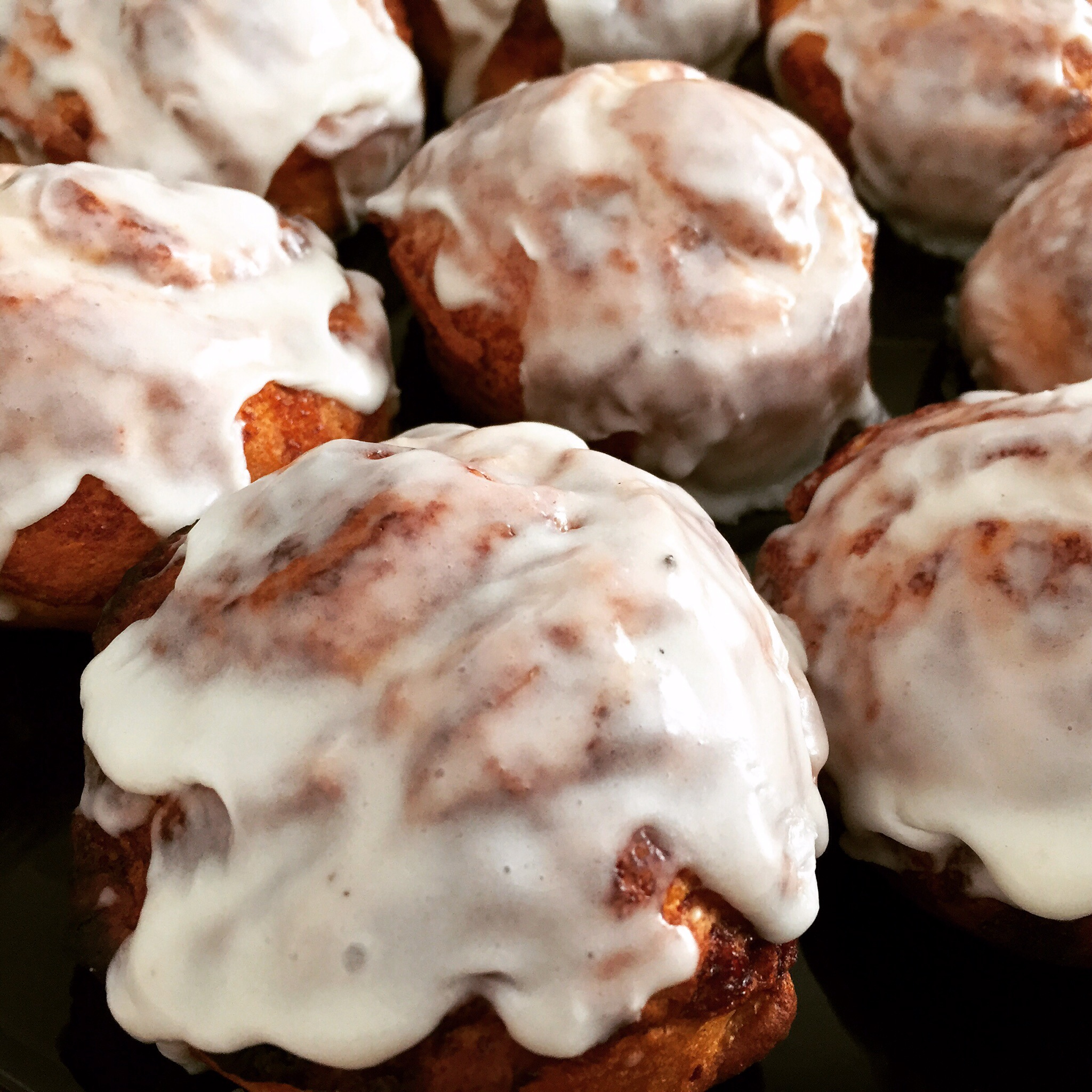 Snow Day Cinnamon Buns