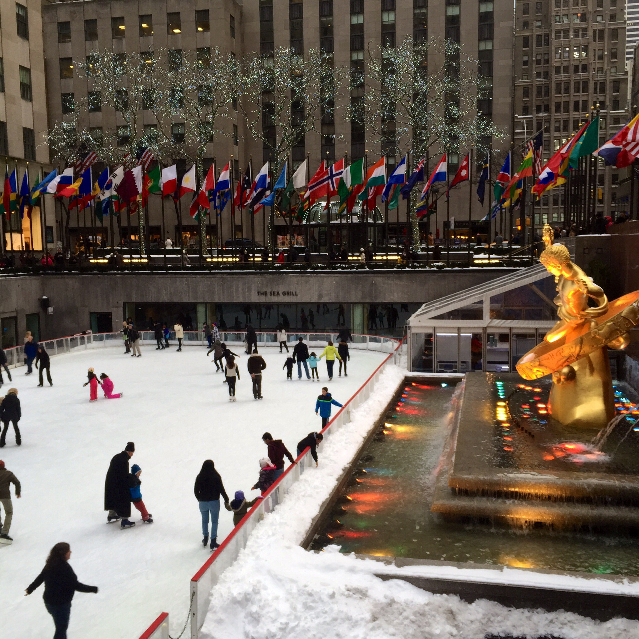 Rockefeller Plaza Ice Rink - NYC