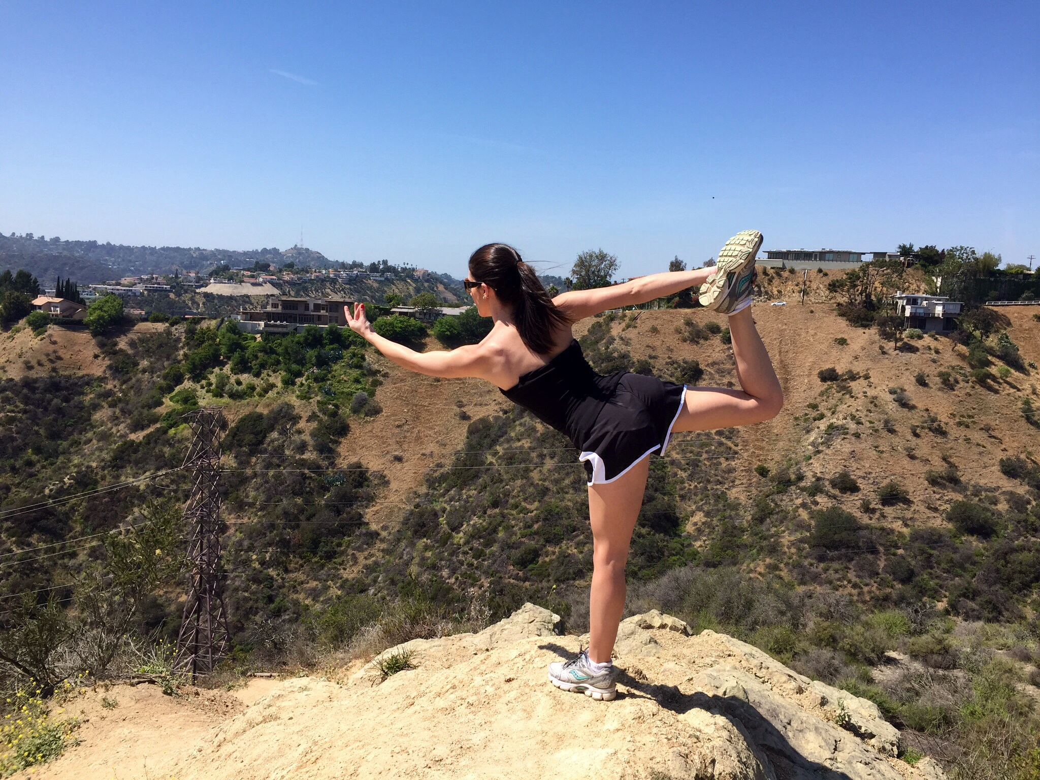 Yoga at Runyon Canyon
