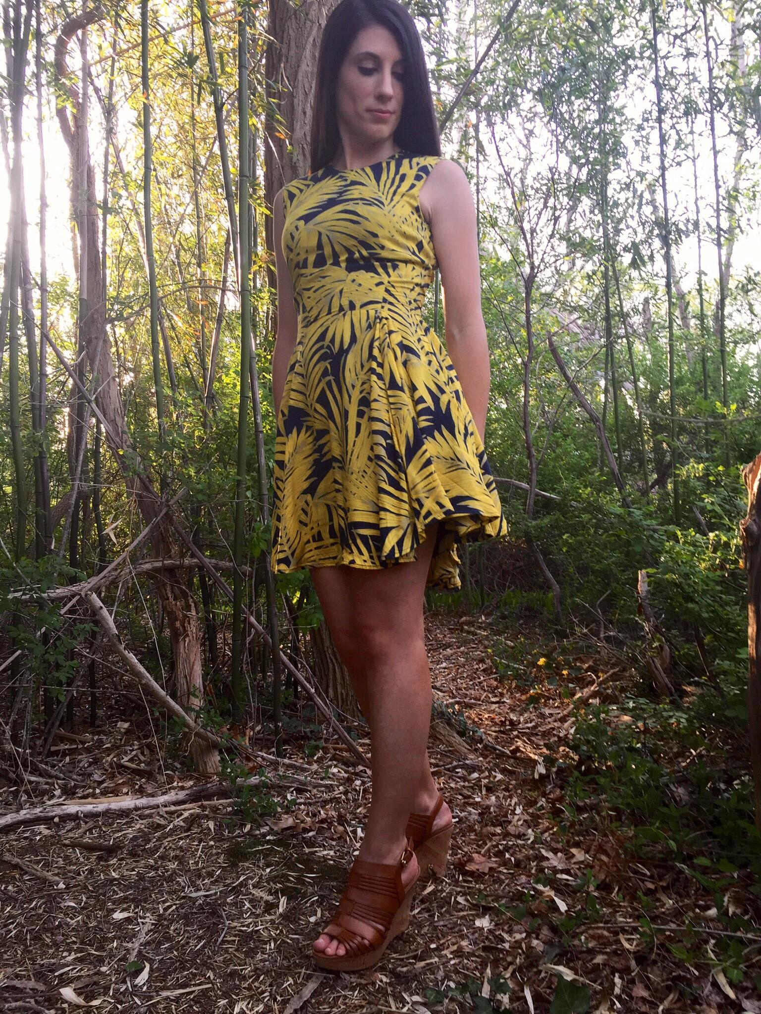 Circle-Skirt Dress - H&M