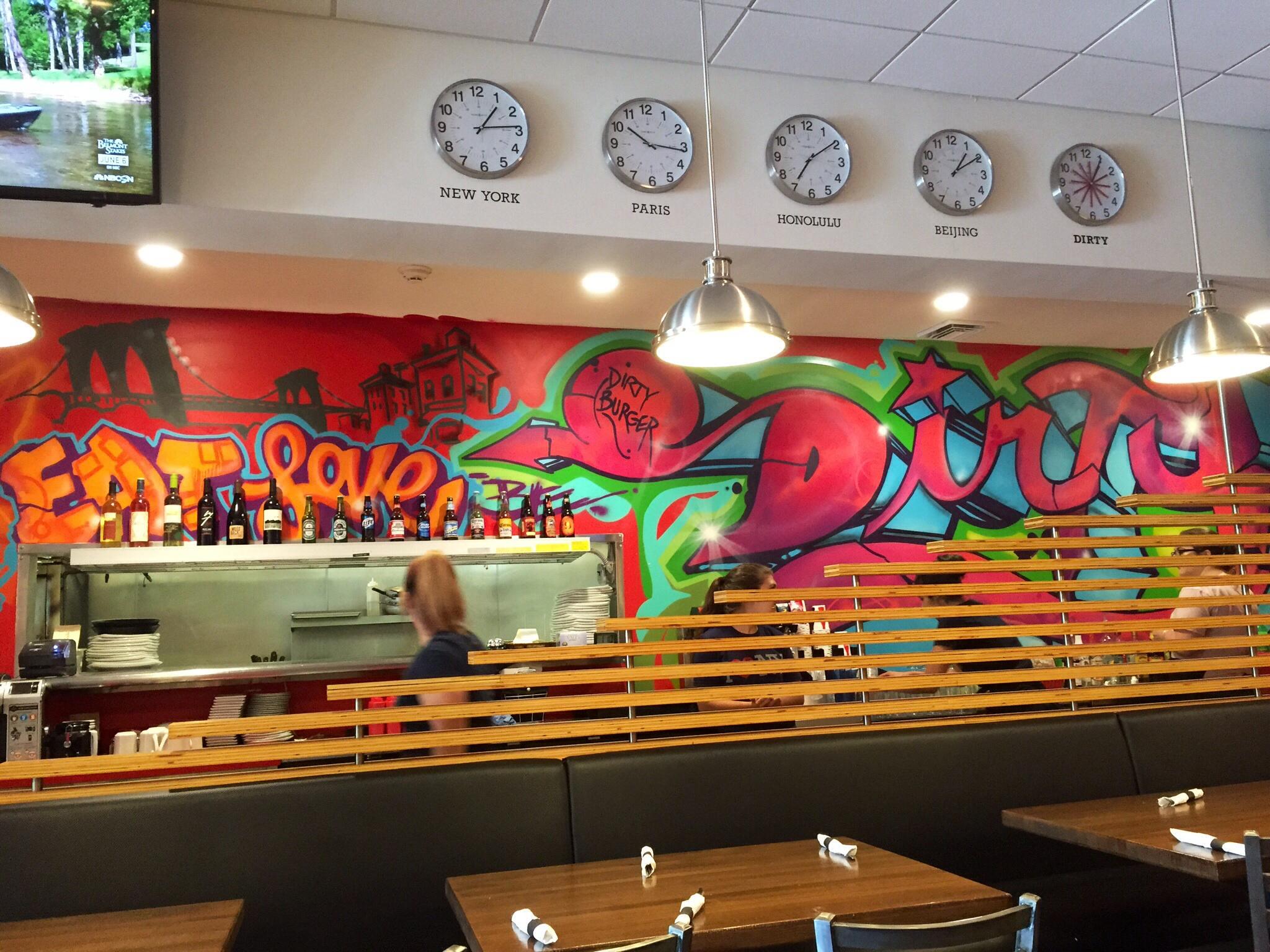 Diggin' the Dirty Burger