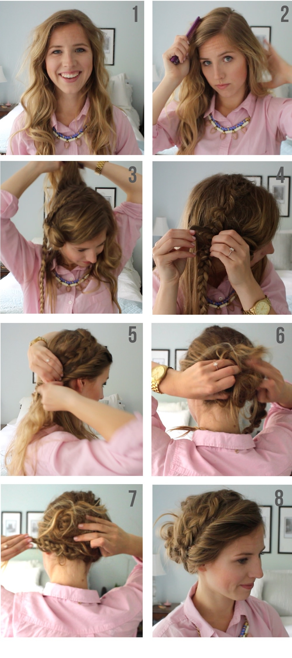 Get the Look: Braided Up-Do