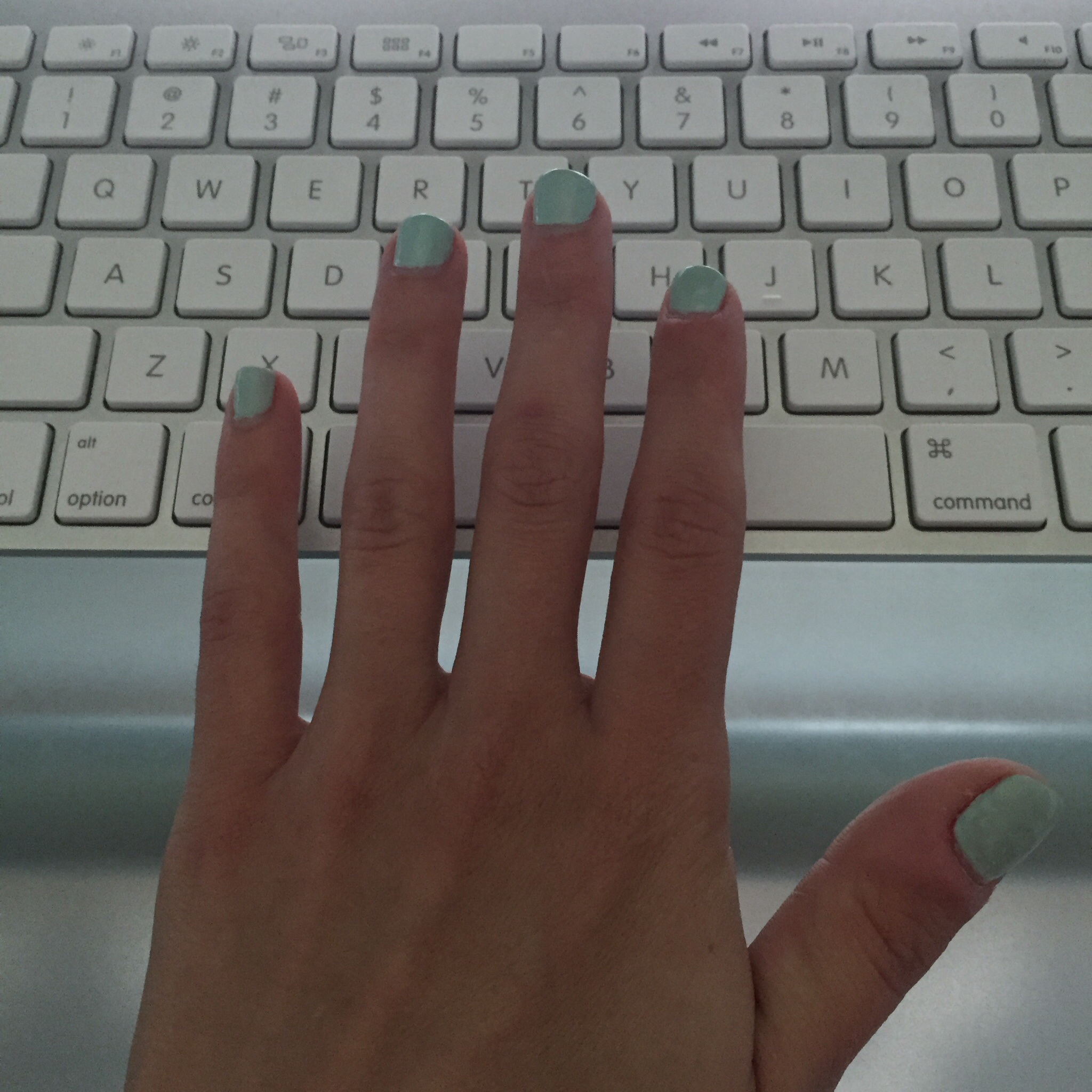 Mojito Mint by Whim Nail Polish