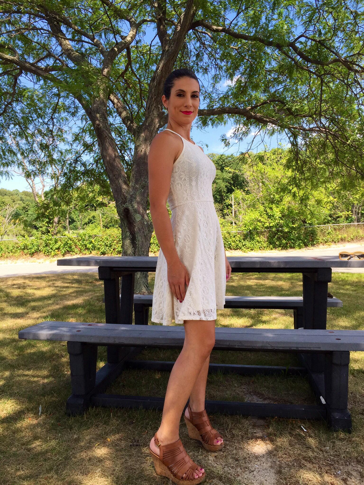 Mossimo White Lace Dress