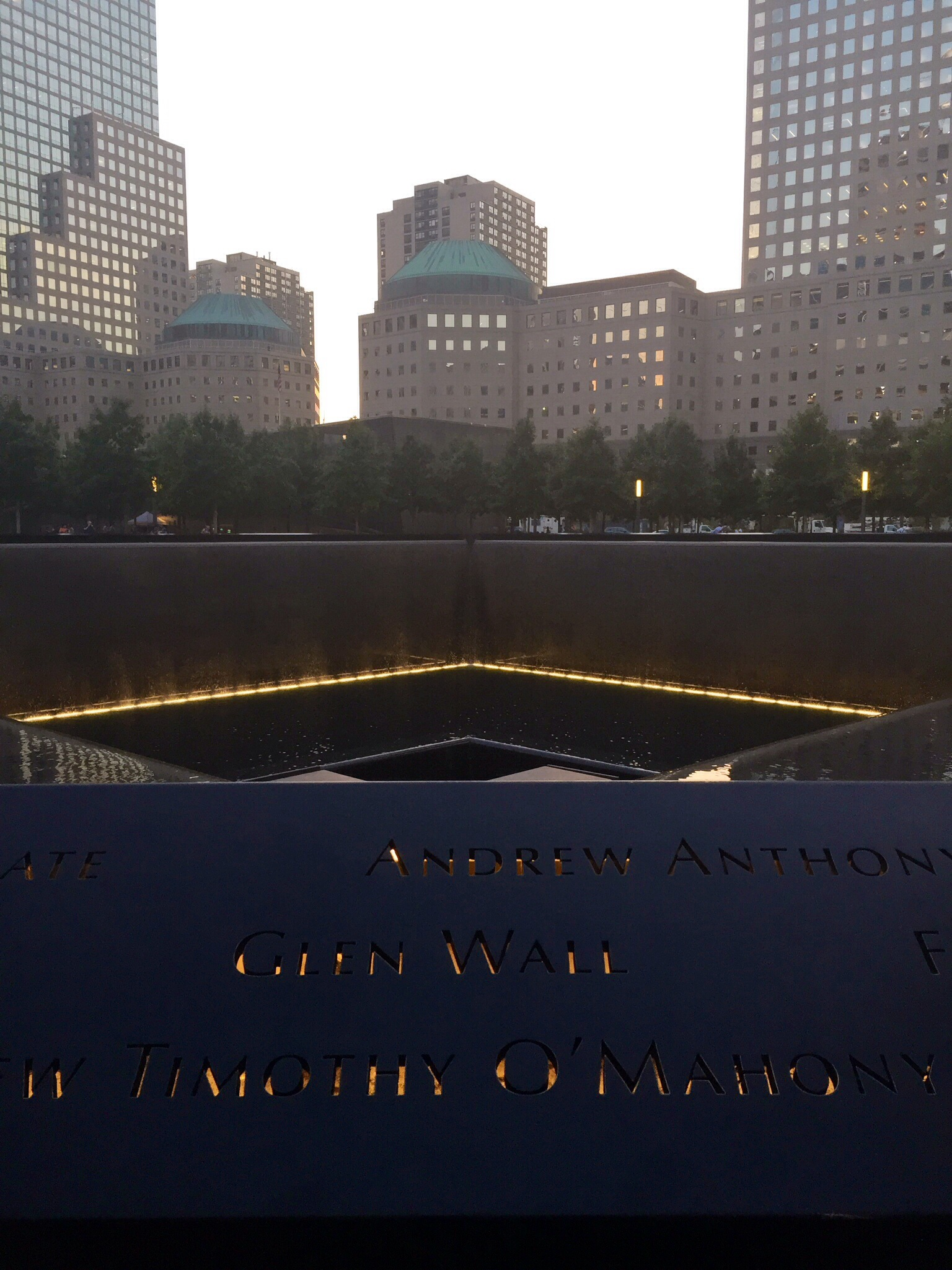 September 11th Reflecting Pools