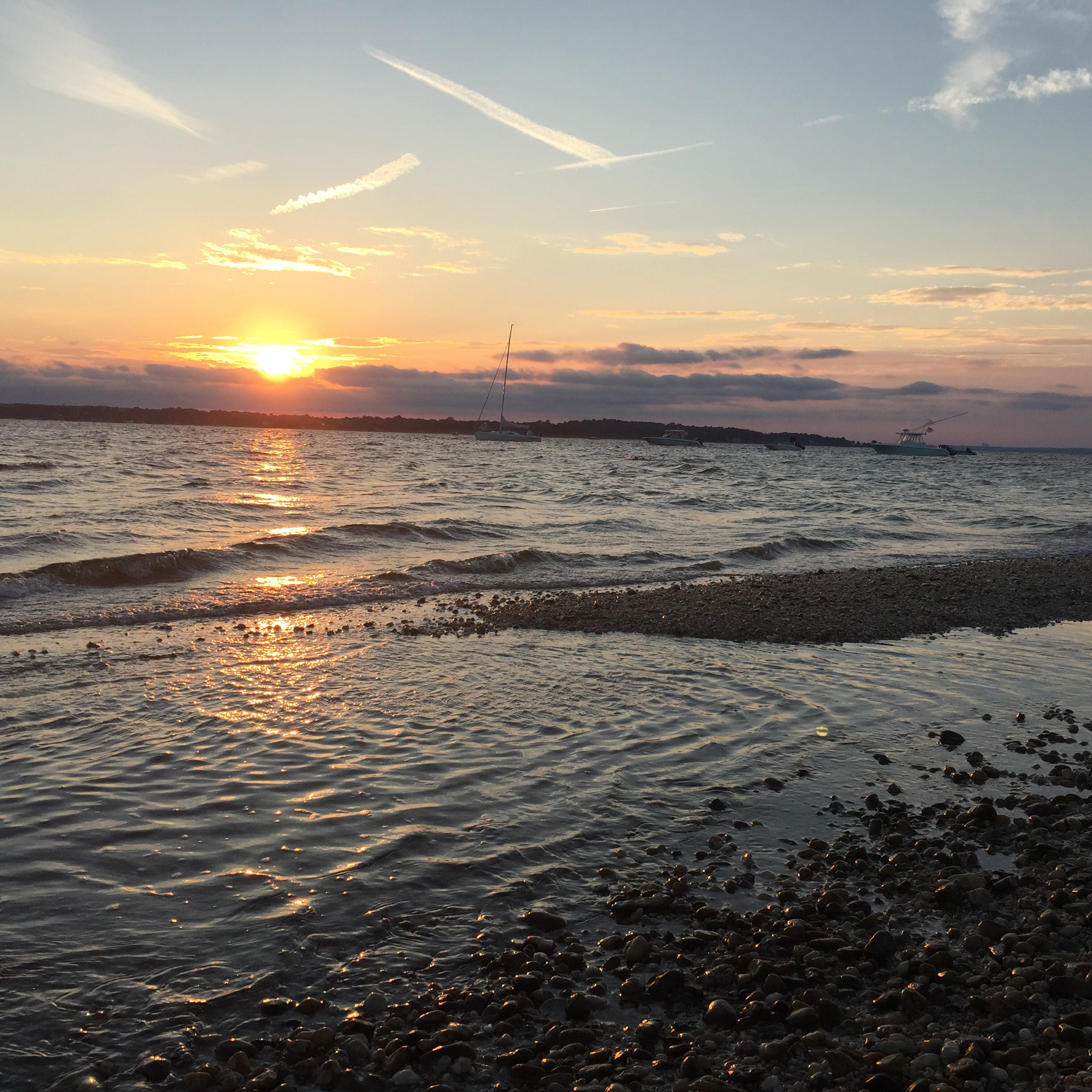 Sunset - West Neck Beach