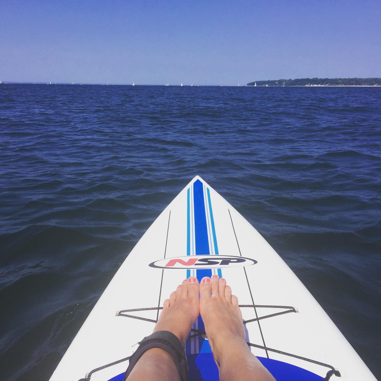 Stand-up Paddle Boarding, Huntington, NY