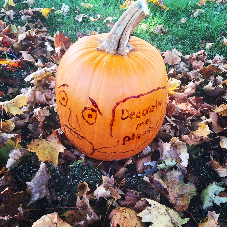 Pleading Pumpkin