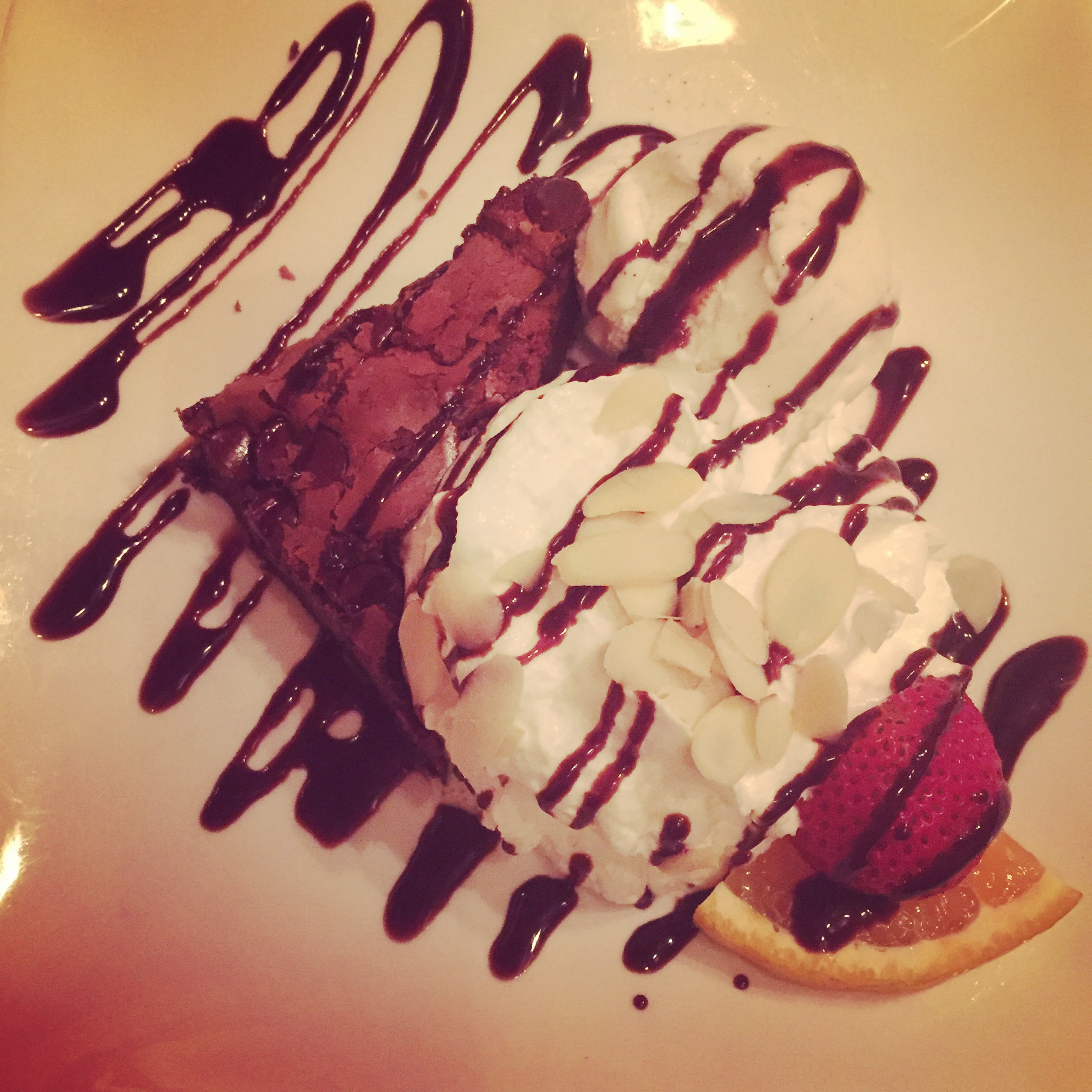 Brownie Sundae - Irish Coffee Pub