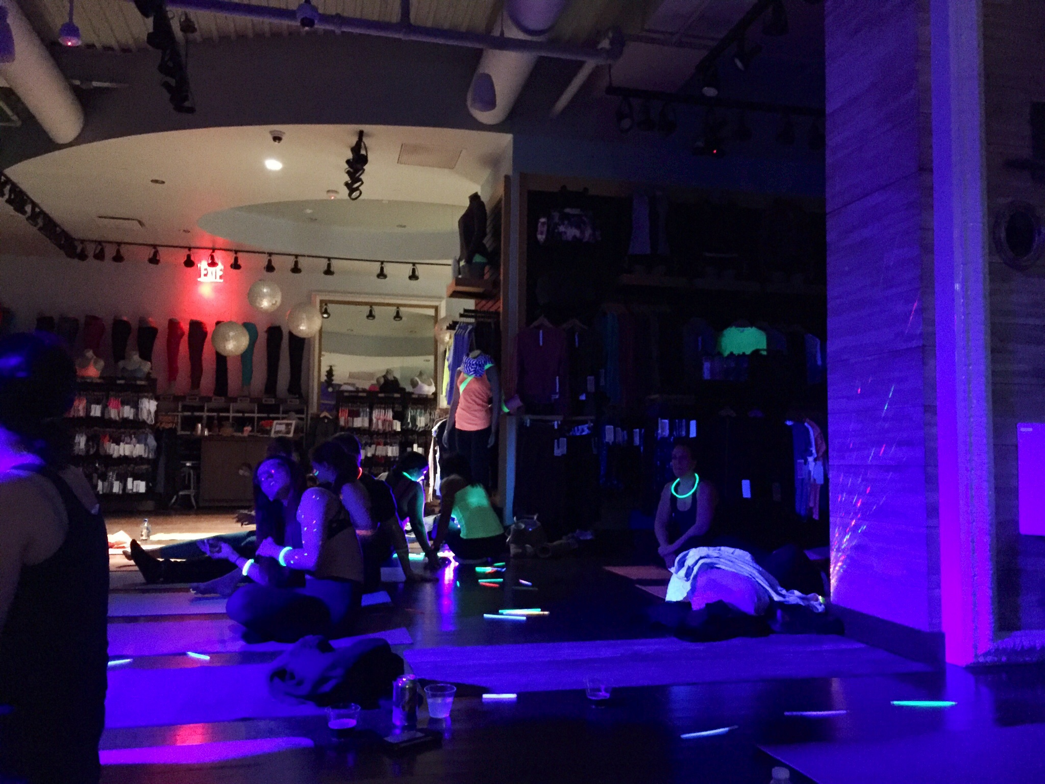 Glow with the Flow Hosted By Lululemon Huntington