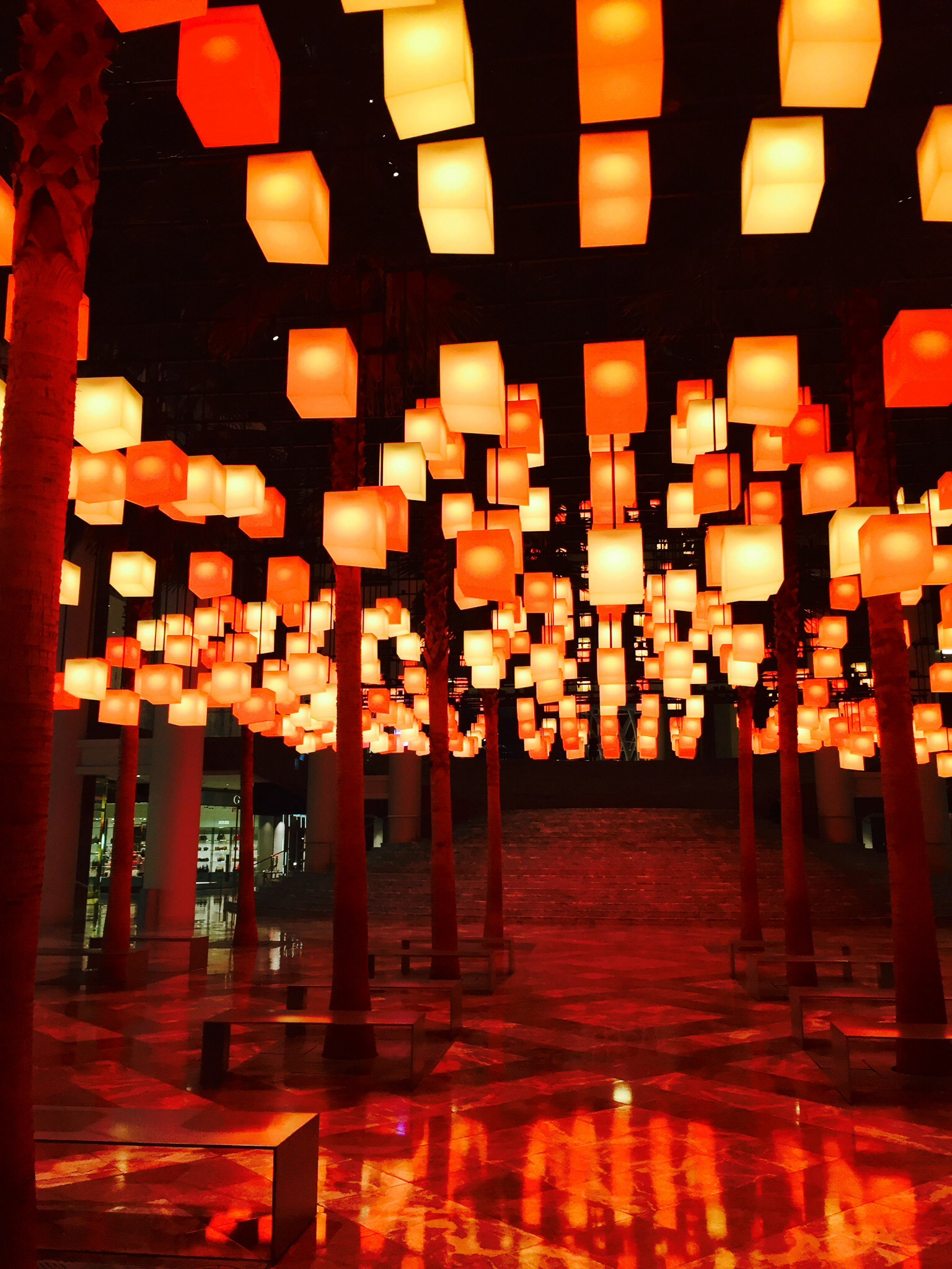 Luminaries Installation - Brookfield Place
