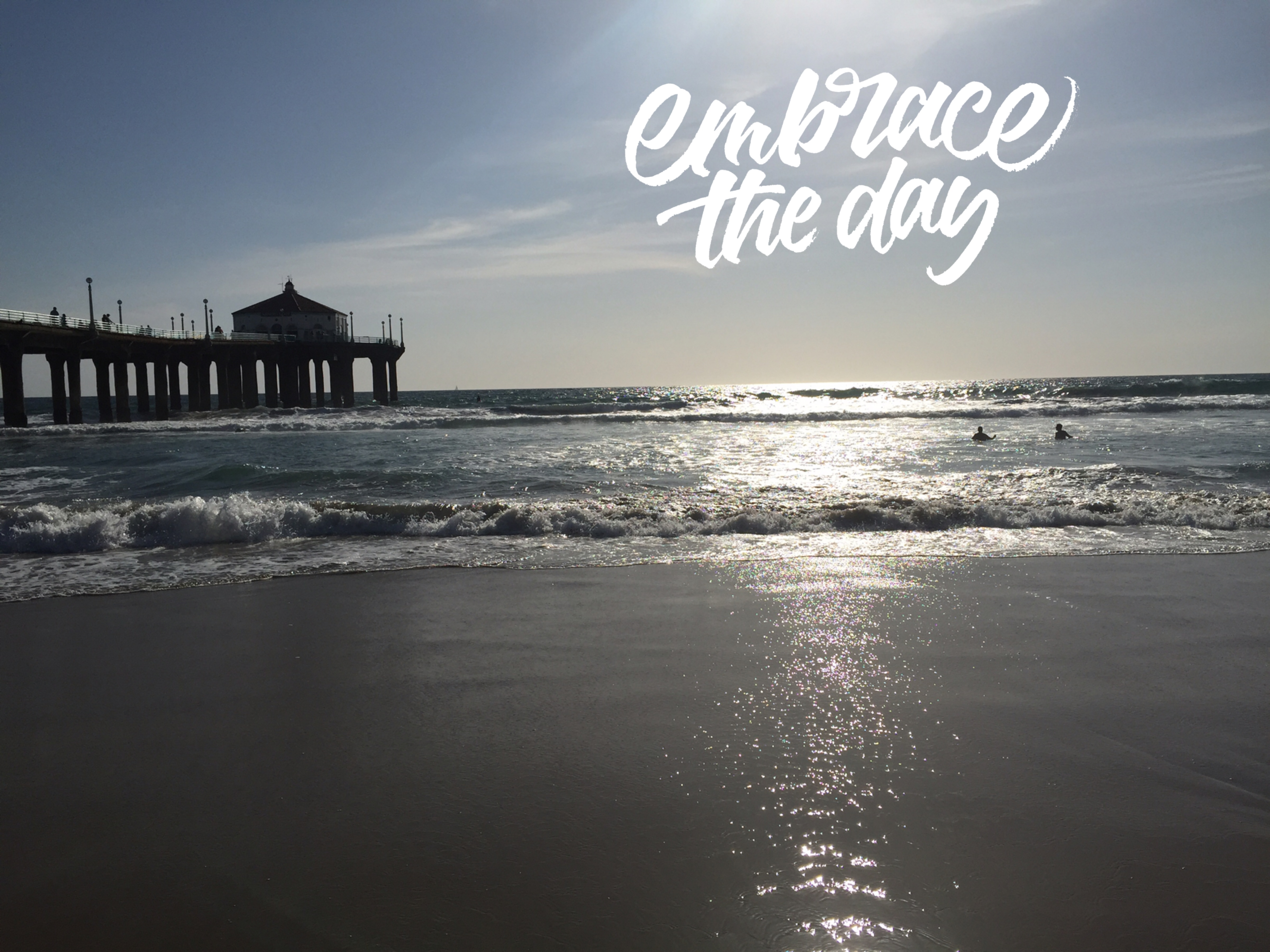 Monday Mantra:  Embrace the Day