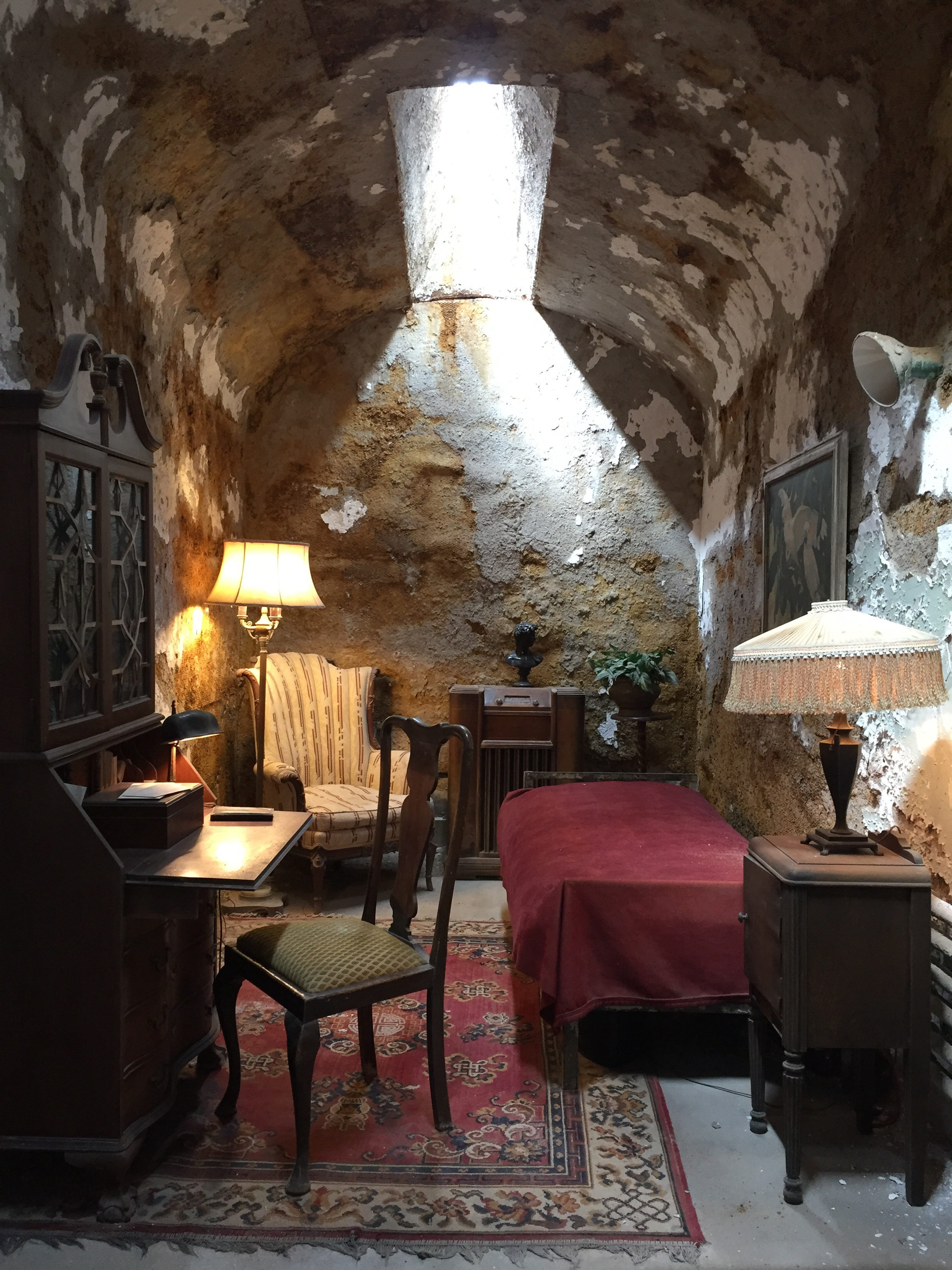 Eastern State Penitentiary - Al Capone's Cell