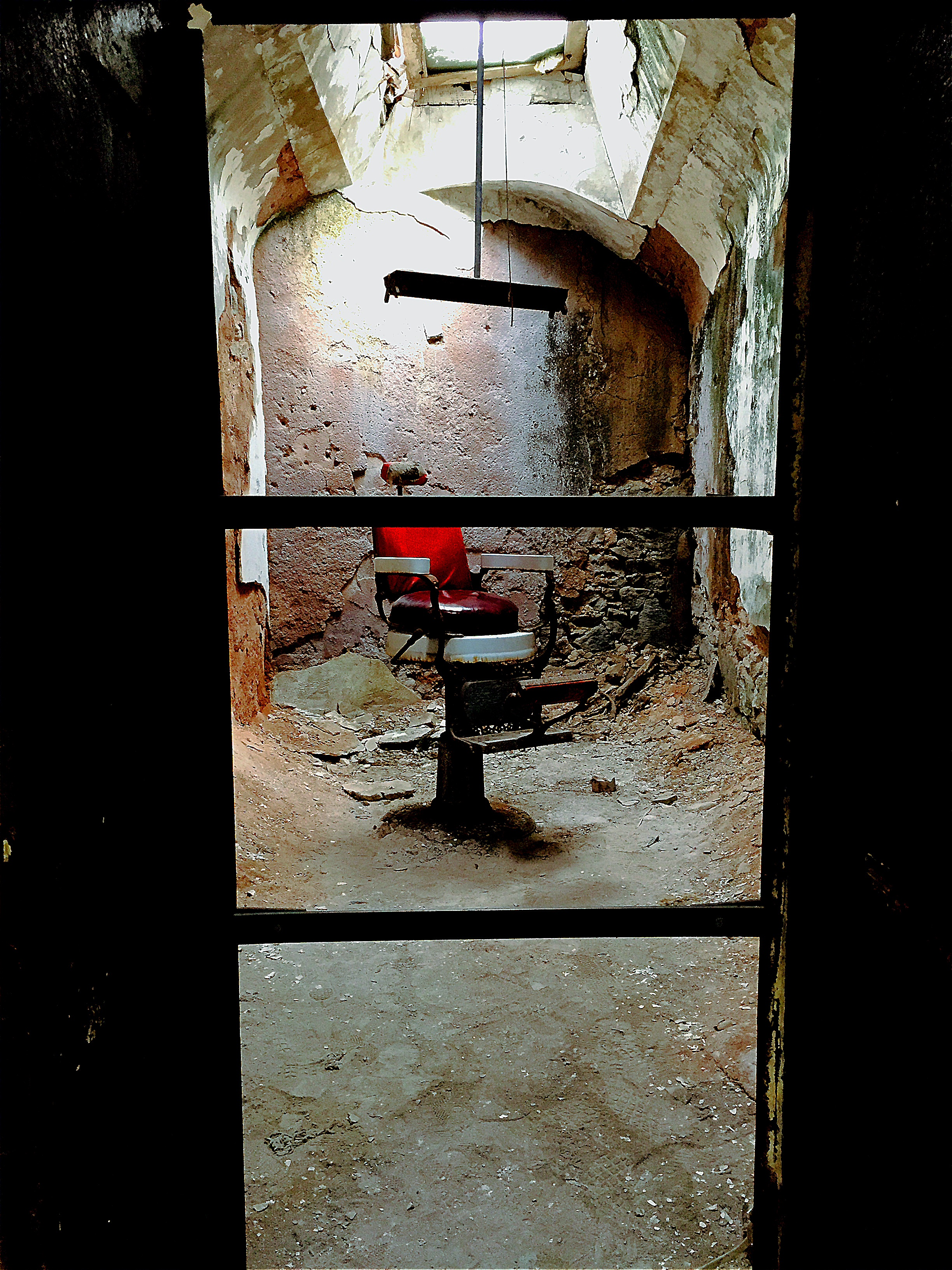 "Eastern State Penitentiary - The ""Mad Chair"""