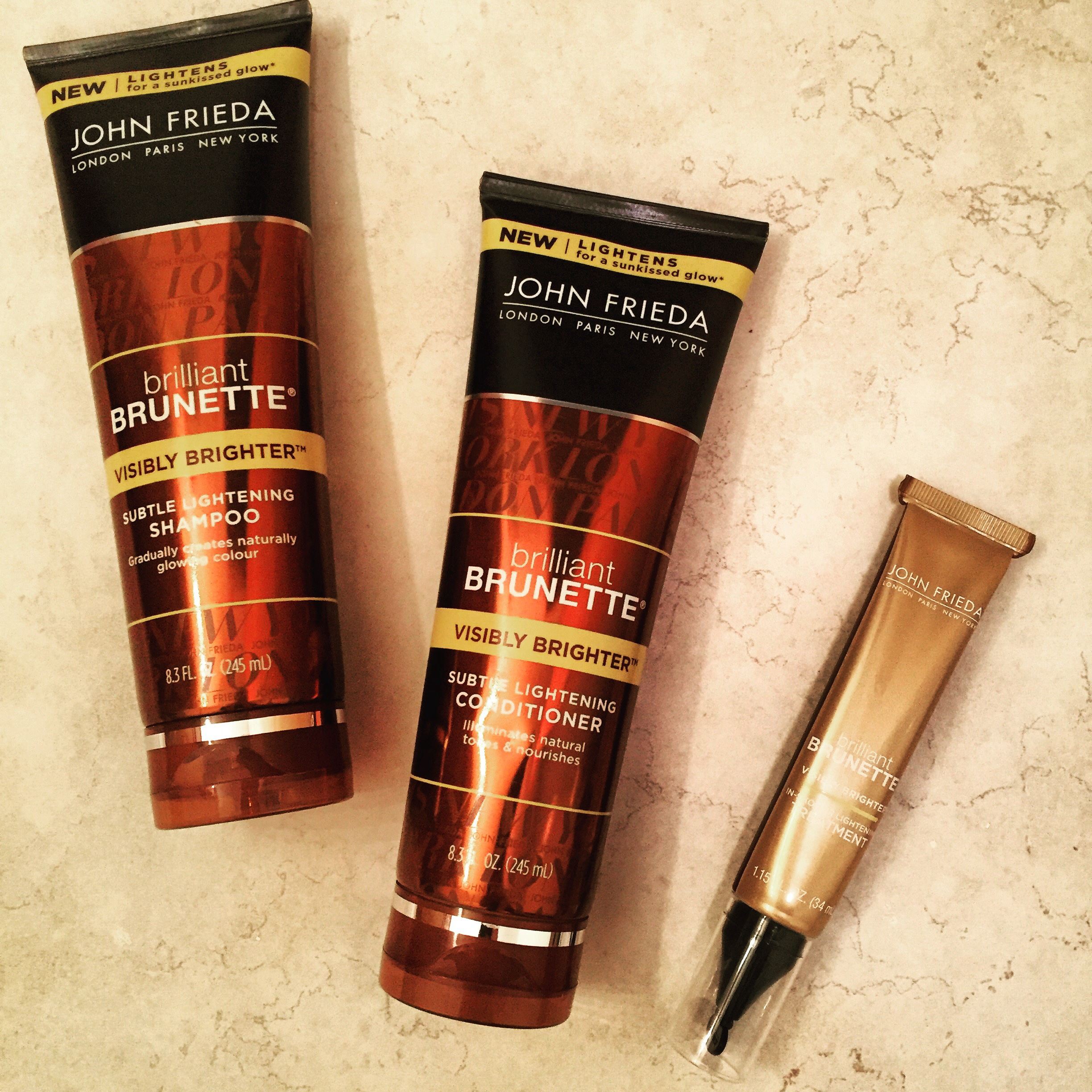 Stealing the Spotlight: John Frieda Brilliant Brunette Visibly Brighter – Part II