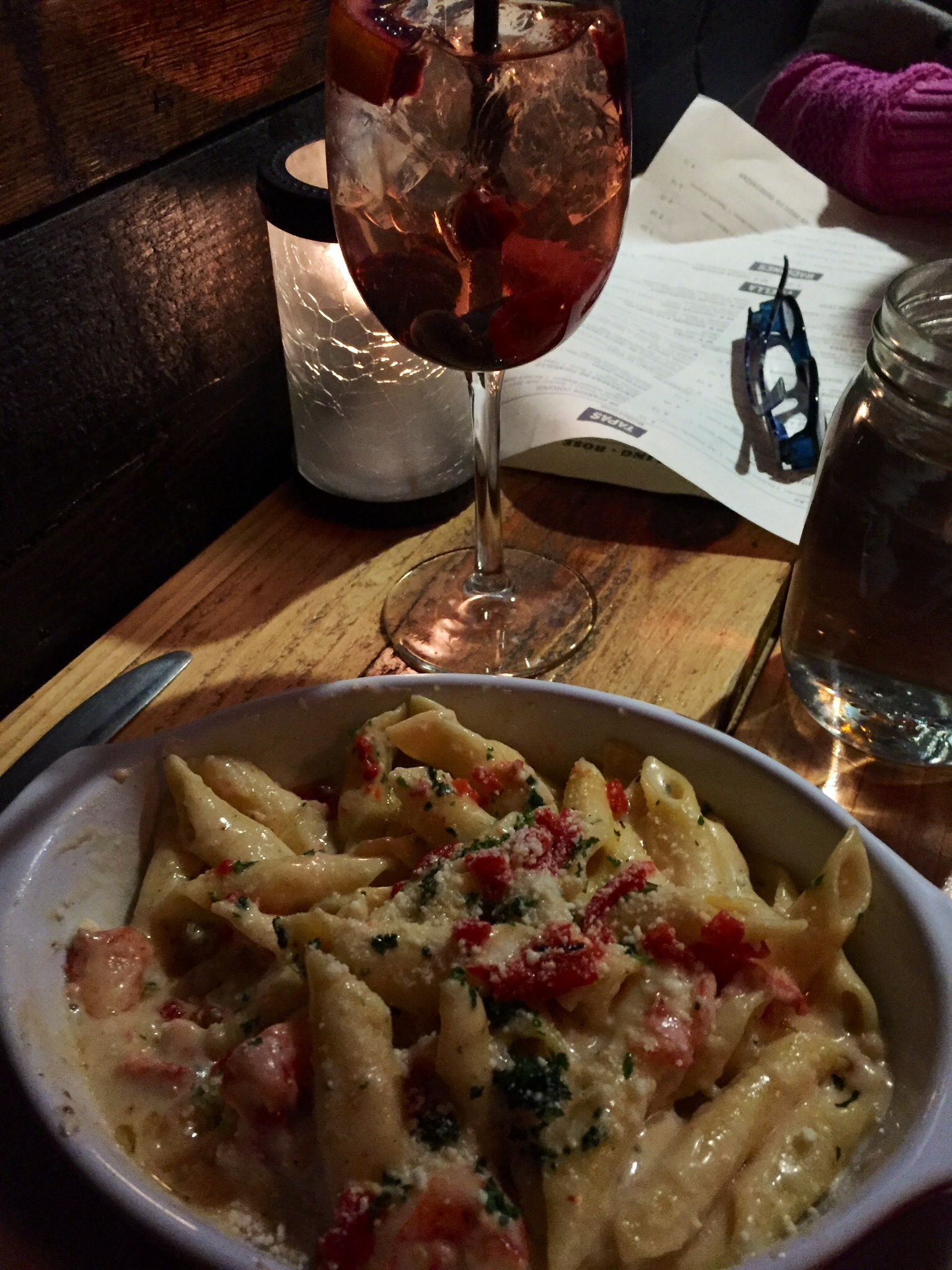 Lobster Mac and Cheese at the Red Fin Crudo and Kitchen - Providence, Rhode Island