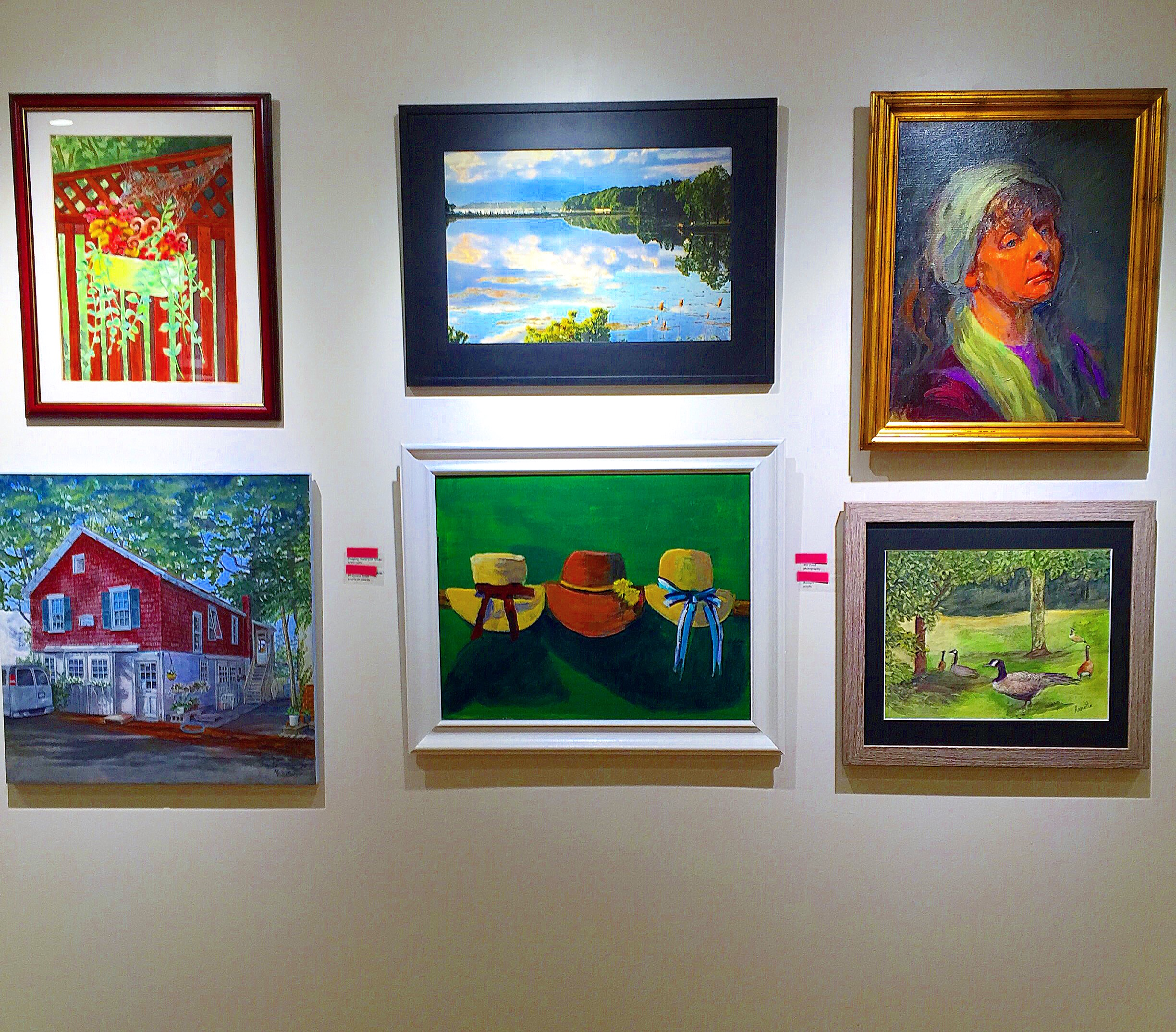 Art Gallery at the Art League of Long Island