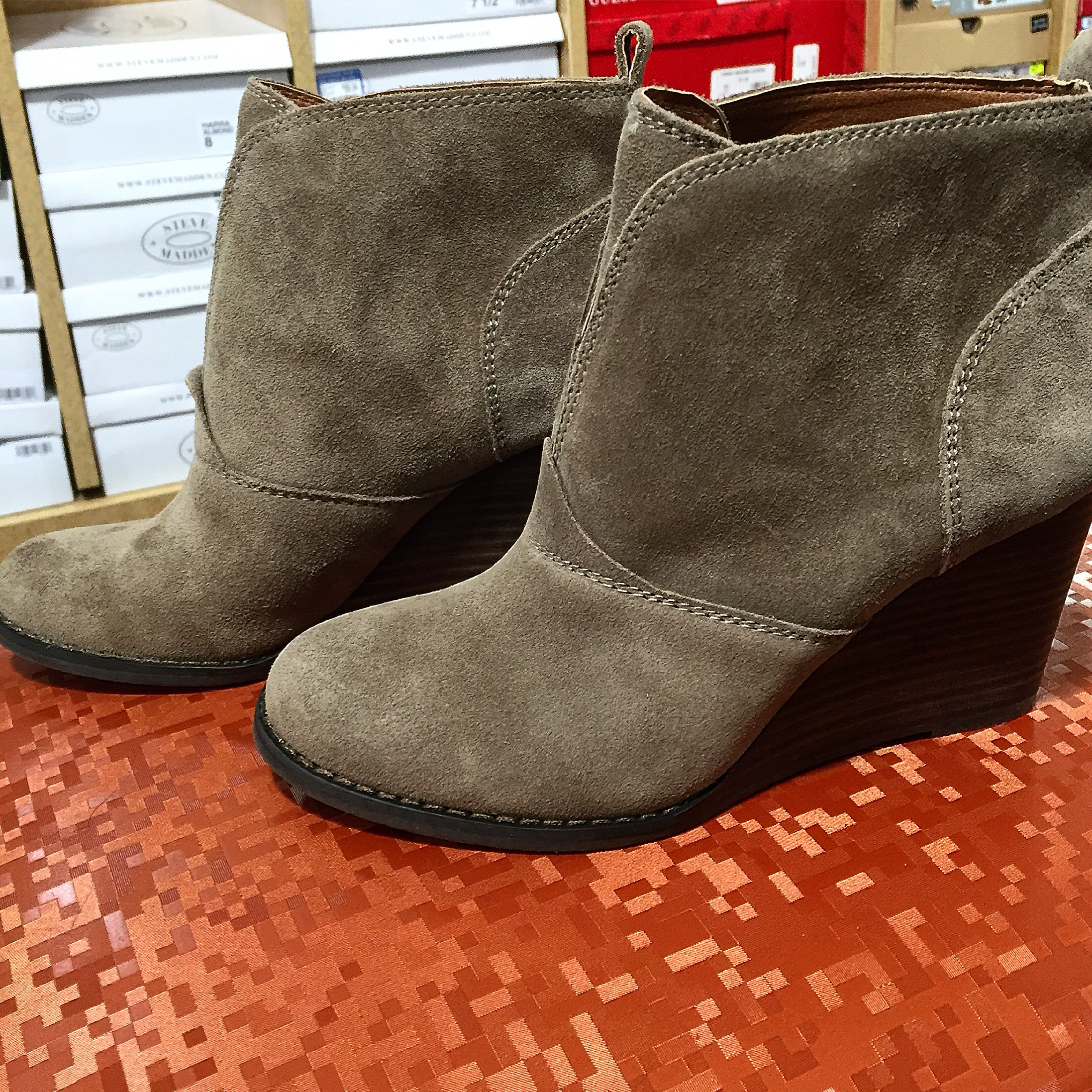 Lucky Brand Booties from DSW