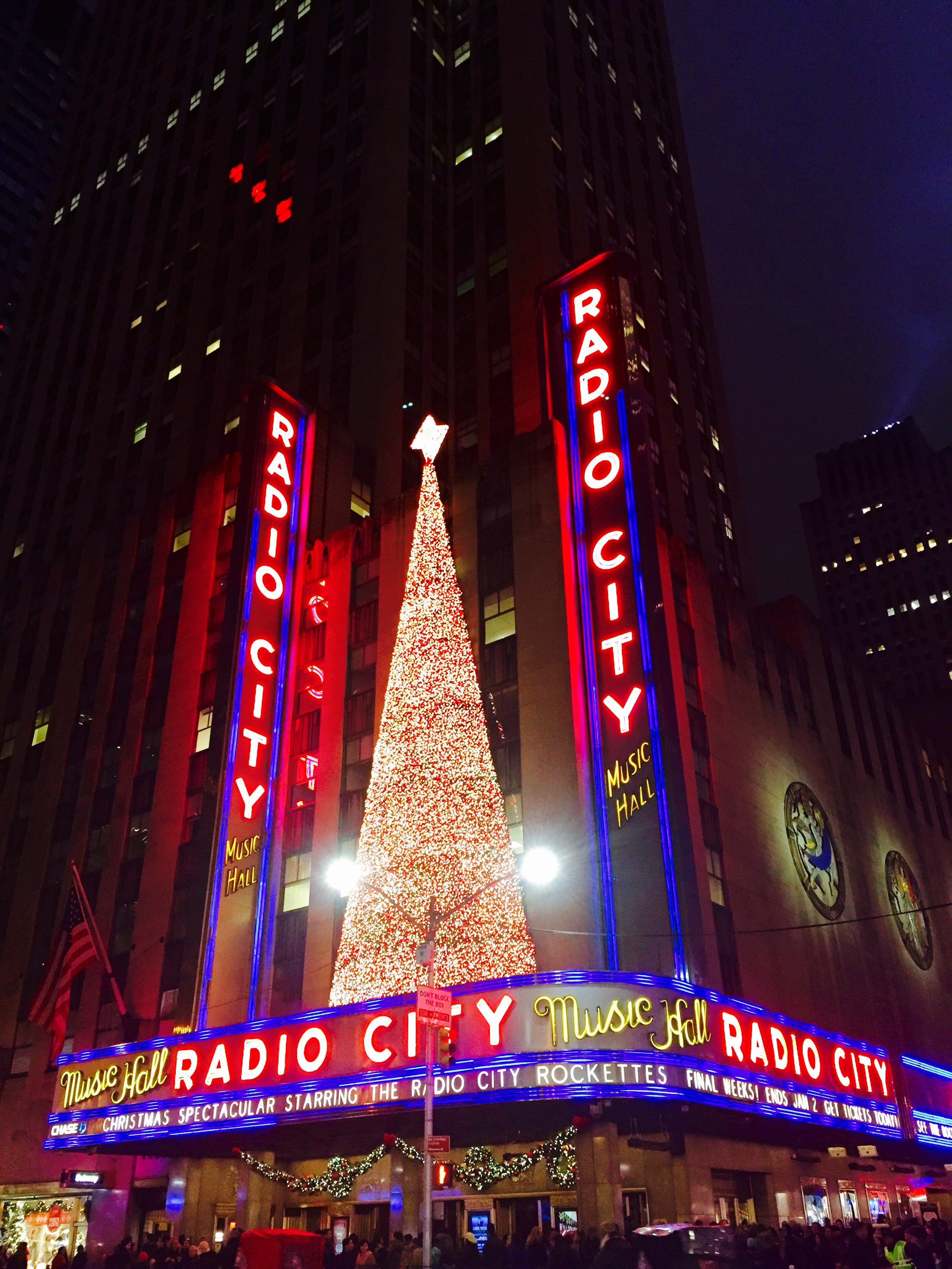 The Tree at Radio City Music Hall
