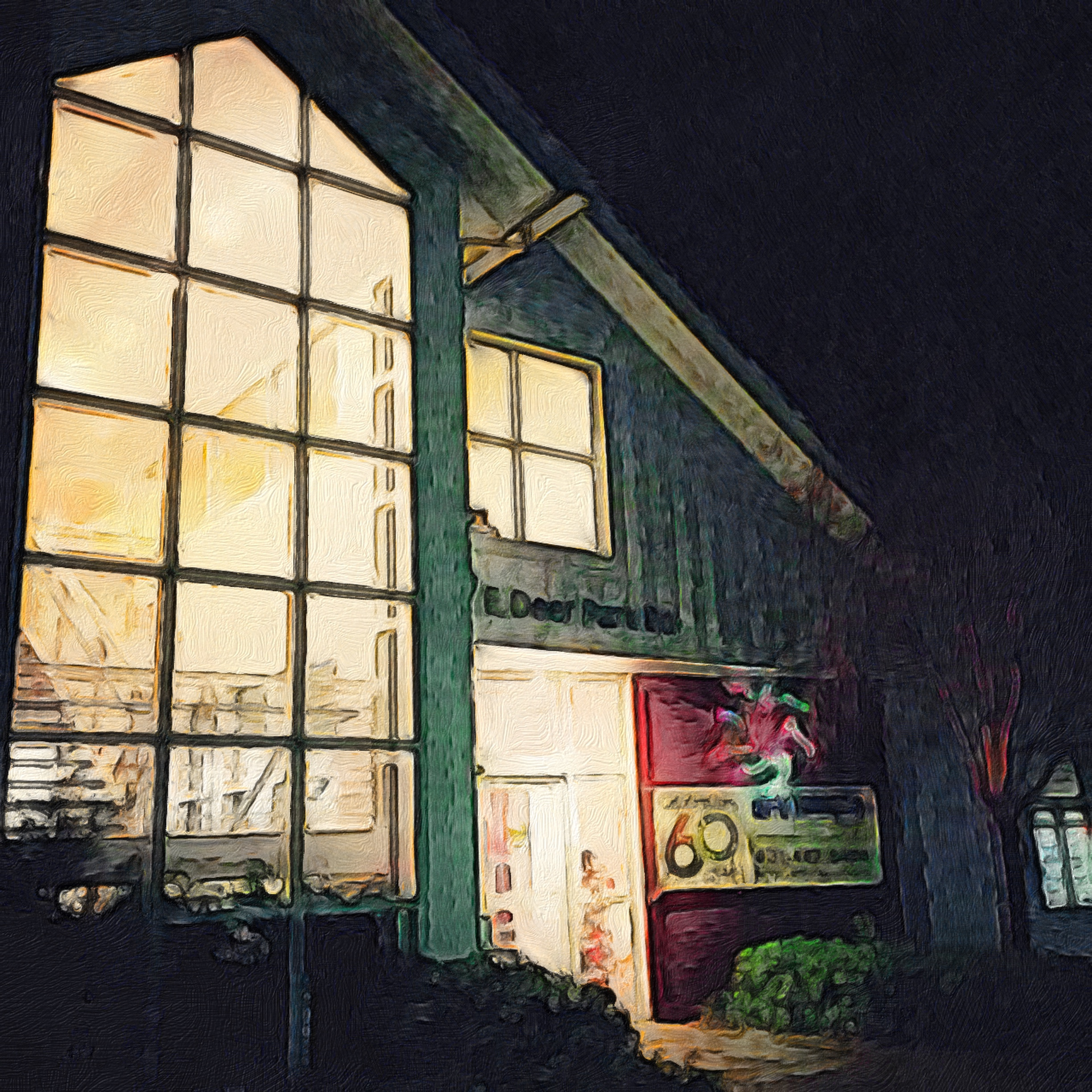 Exterior of the Art League of Long Island