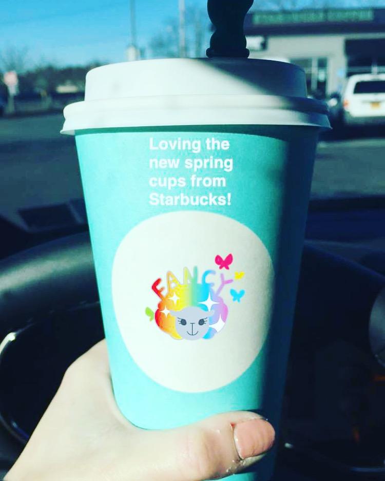 Spring Starbucks Cups