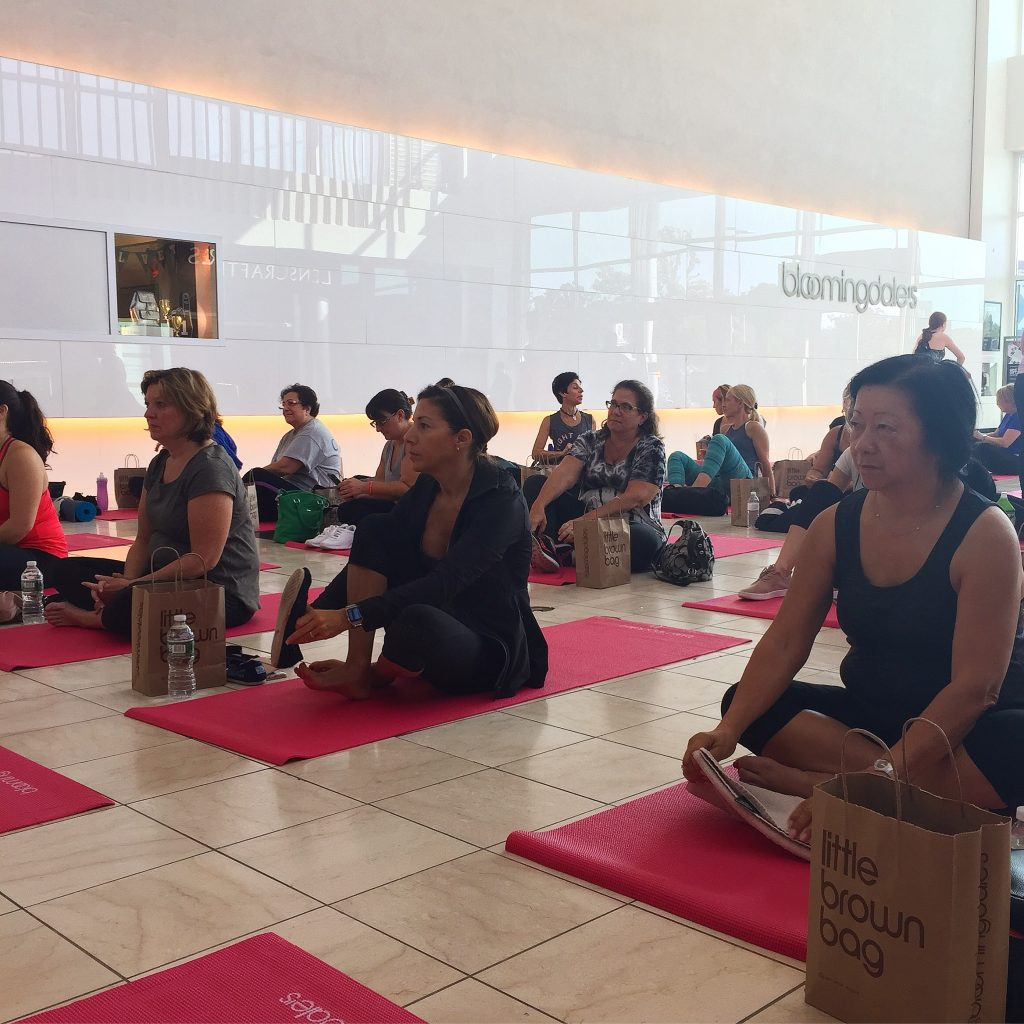 Bloomingdale's Pink Yoga
