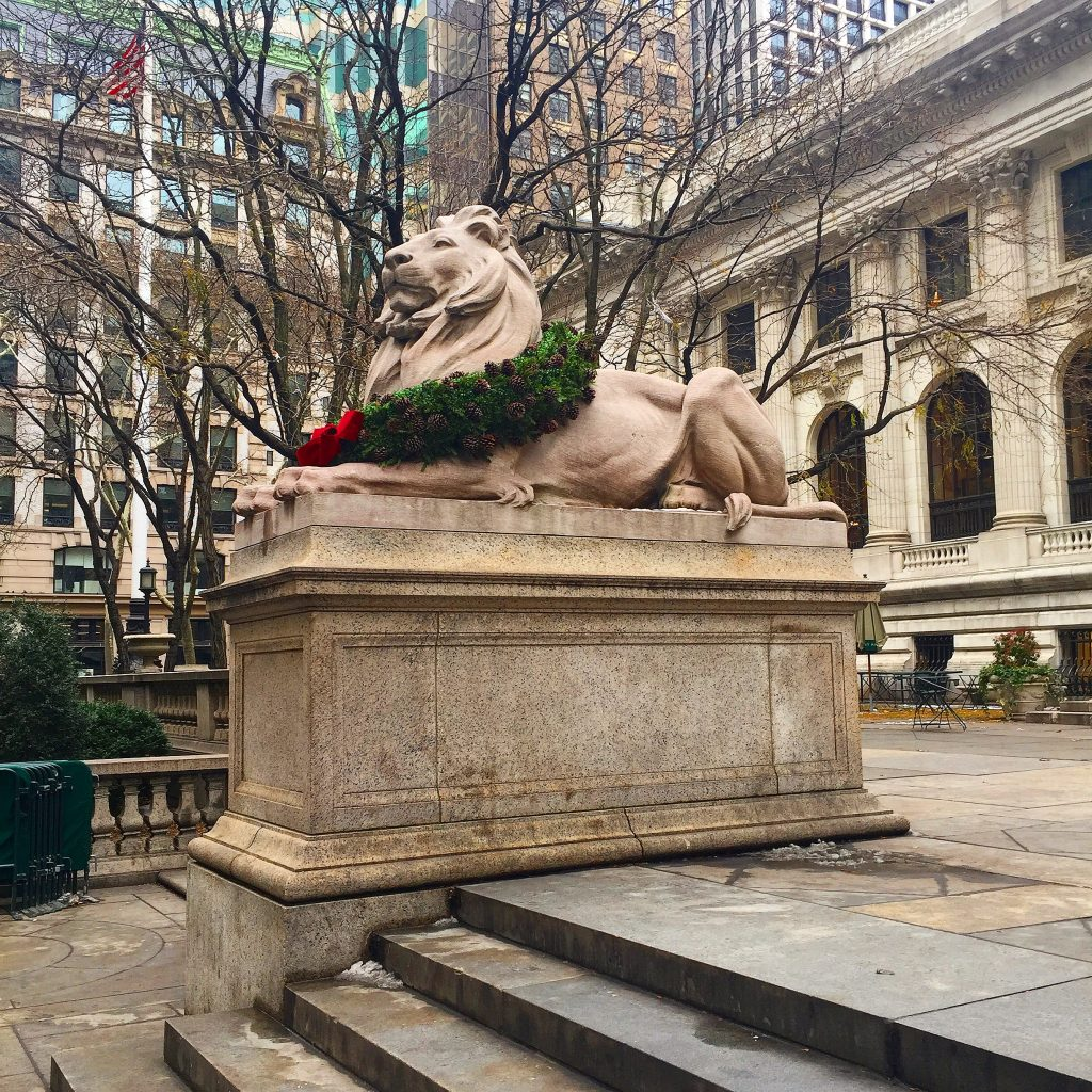 Patience and Fortitude_New York Public Library