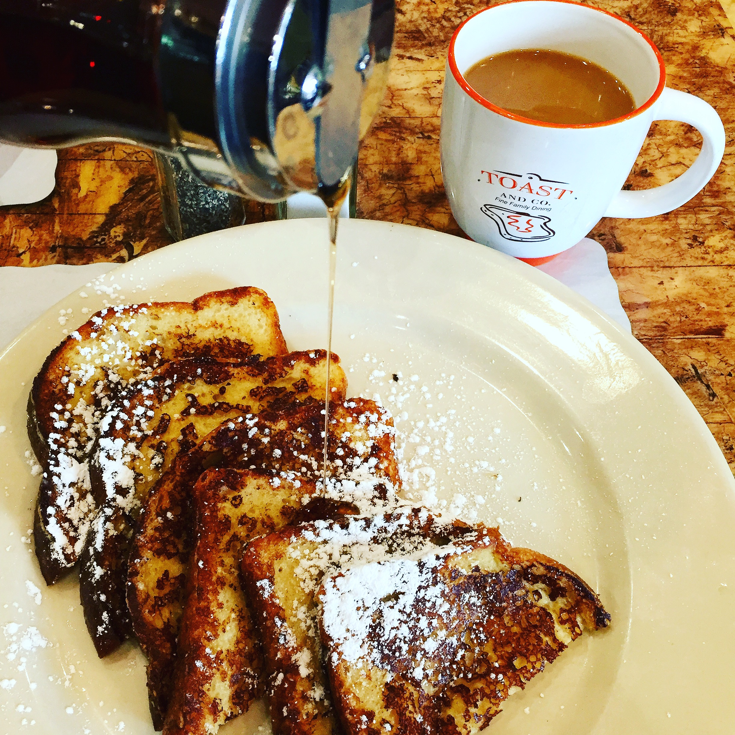 French Toast at Toast and Co.