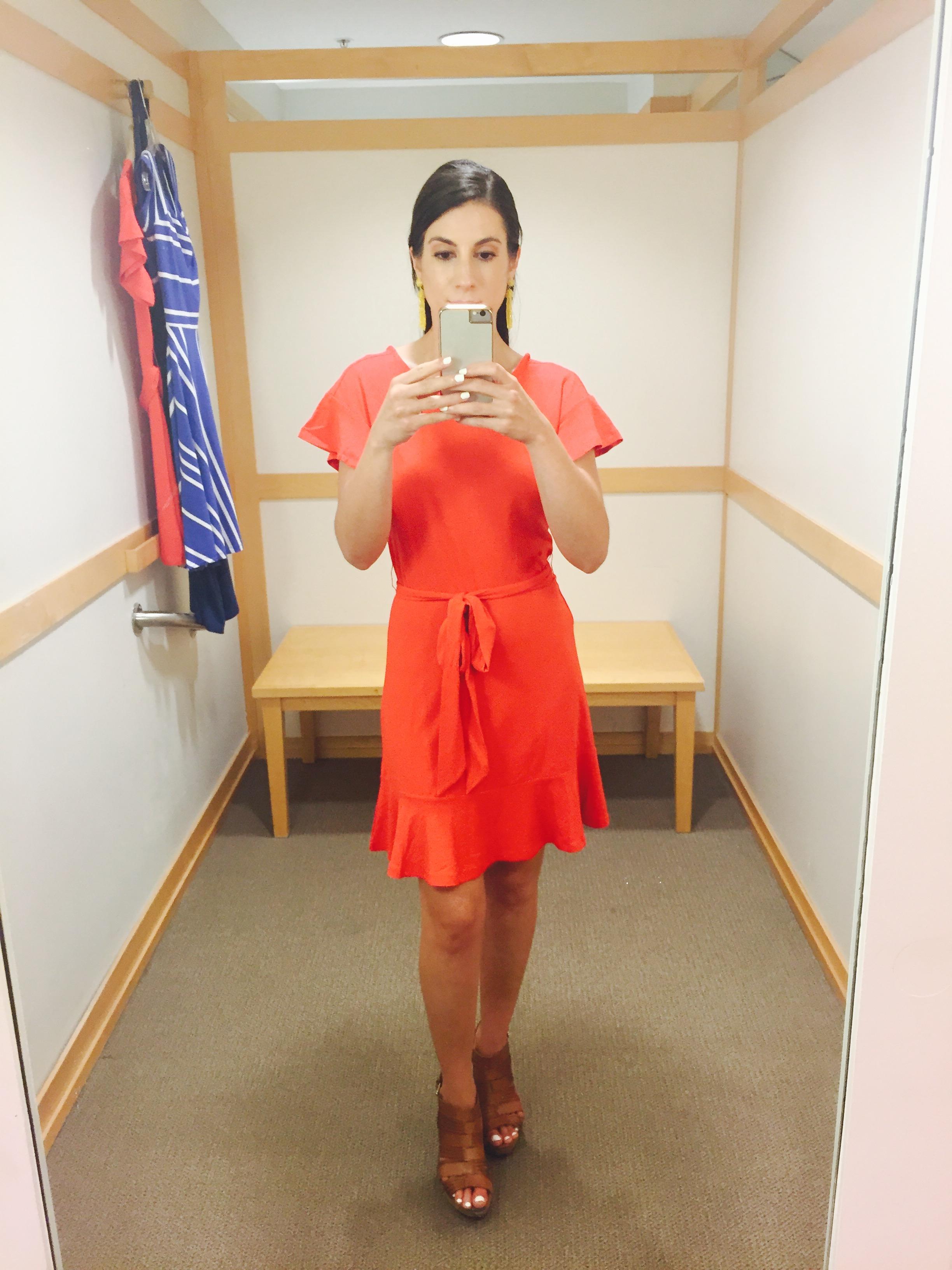 Coral Loft Dress