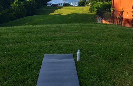 Sunset Yoga at the Vanderbilt Museum
