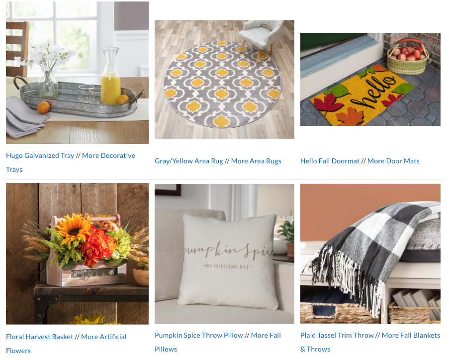 12 Must-Have Fall Décor Pieces From Wayfair