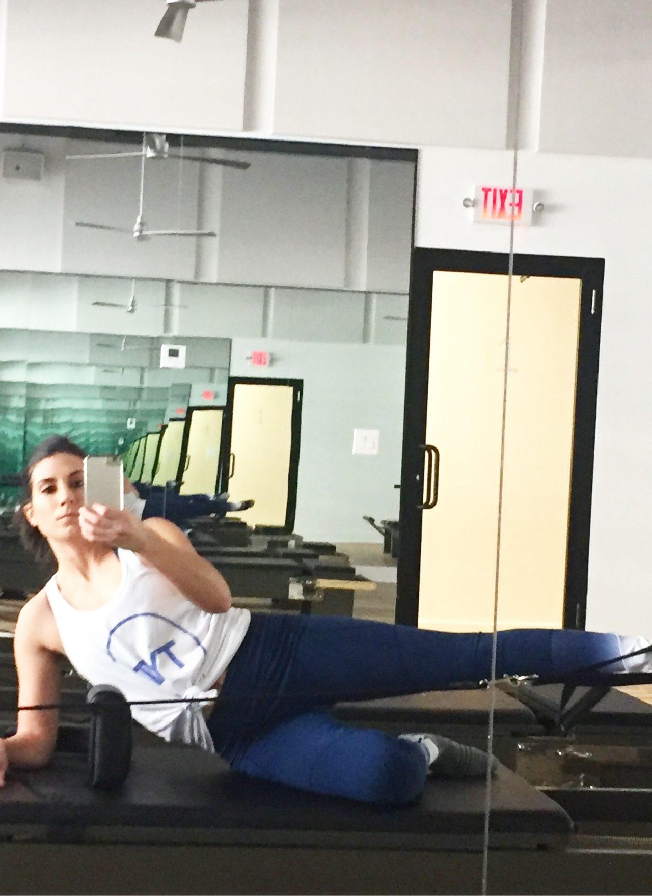 My First Pilates Class with FLEX Studios