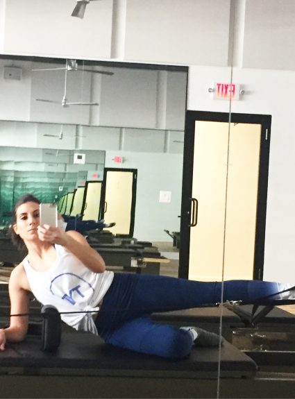 My First Pilates Class with FLEX Studios