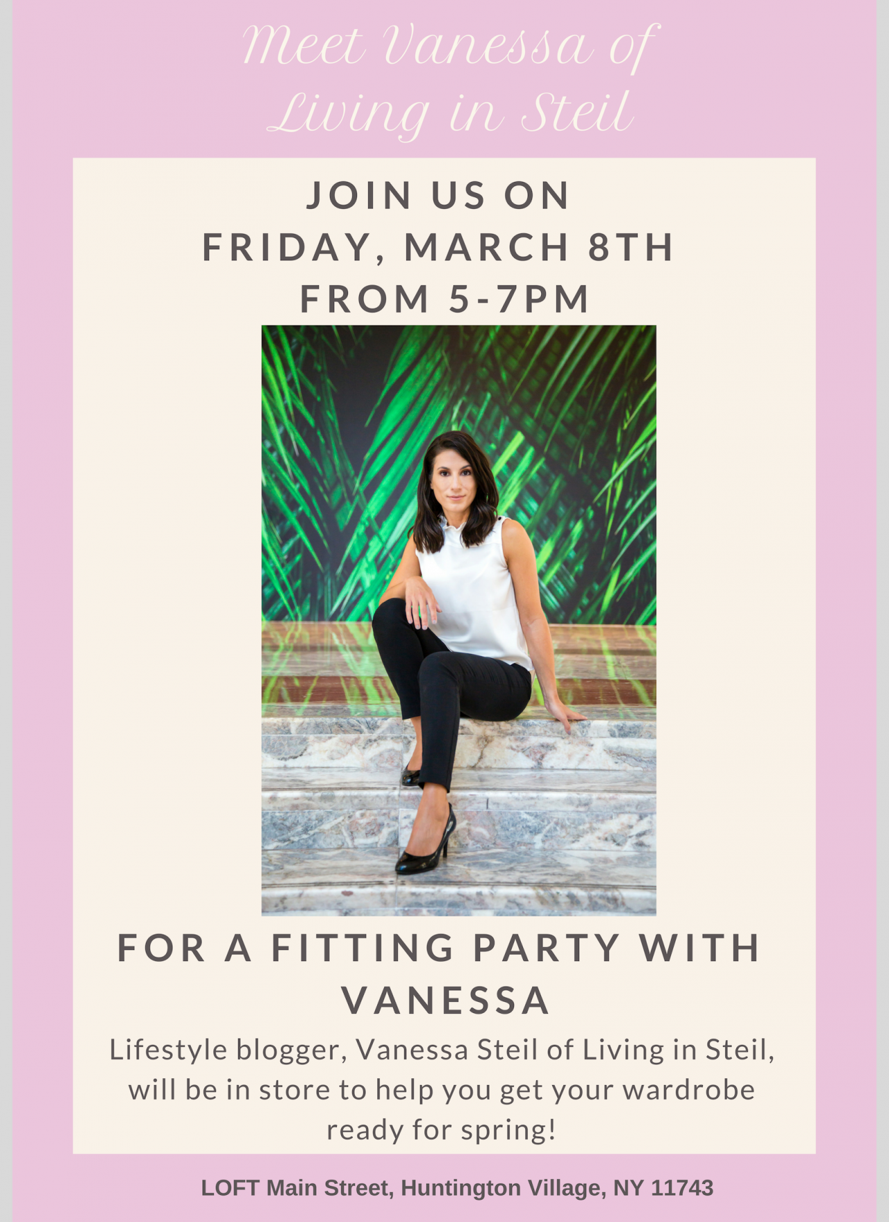Shop with Me at LOFT on March 8th!