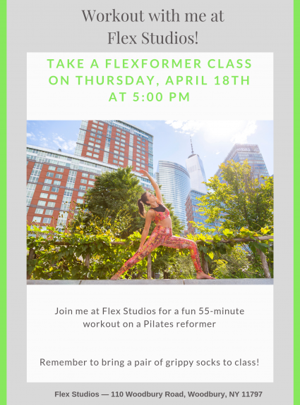 Workout with me at Flex Studios!