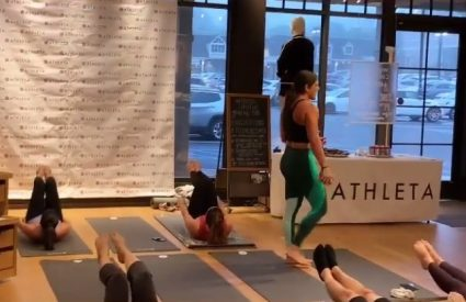 My Workout at Athleta