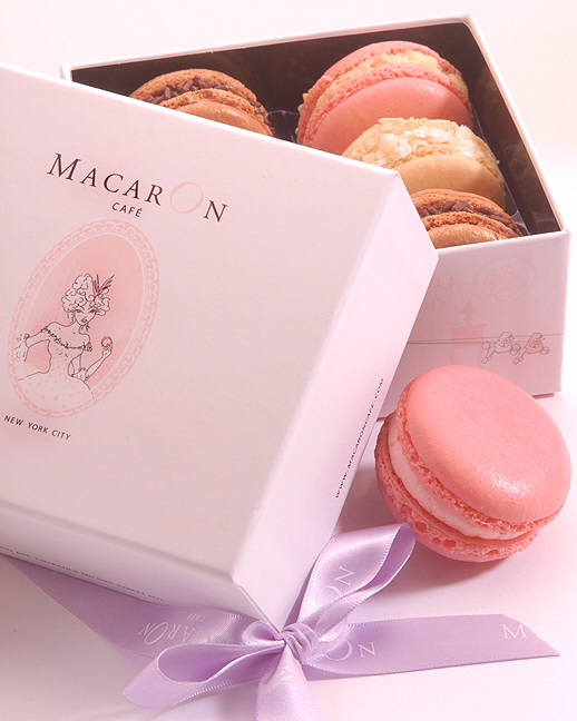 Munching on Macarons
