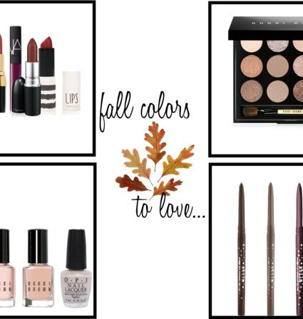 Must-Have Makeup Shades for Fall