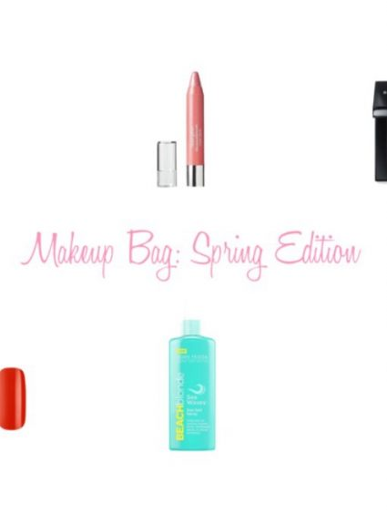 Makeup Bag: Spring Edition