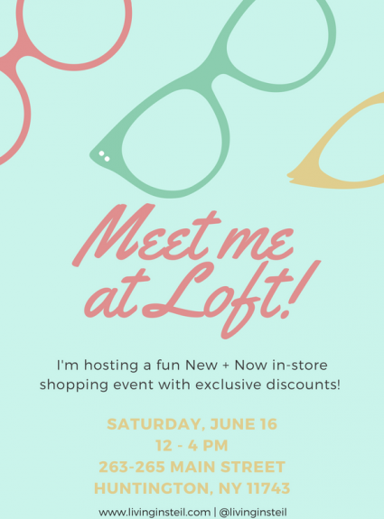 Come Shop with Me at Loft on Main Street!