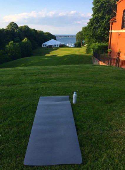 Sunset Yoga at the Vanderbilt Museum