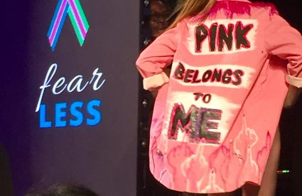Metastatic Breast Cancer Patients, Survivors, and Thrivers Walk at NYFW for Research